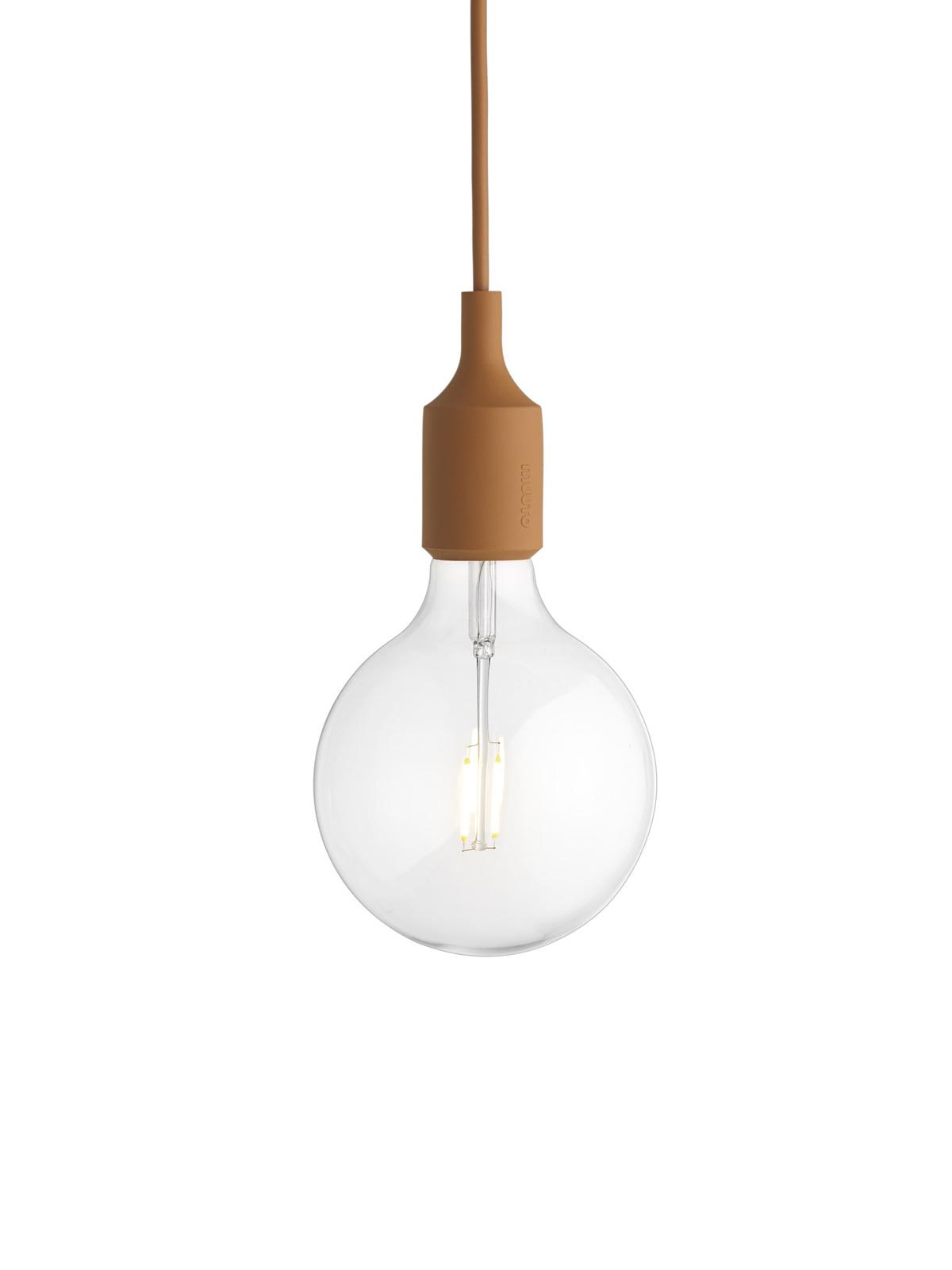 Muuto Lampenhalter aus Silikon E27