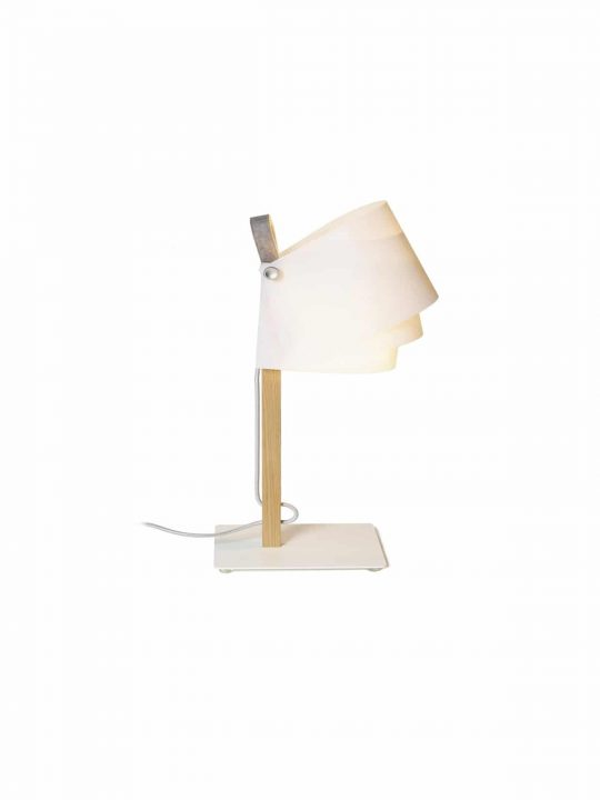 nachhaltige Tischleuchte von Domus Licht Fläks Flaeks