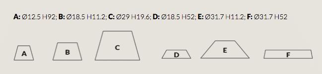 ili ili Module alle Formen Systemleuchte Grupa