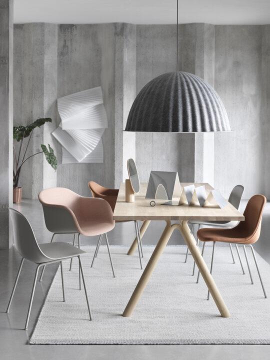 DesignOrt Blog: Neue nachhaltige Designerleuchten Muuto Under the Bell