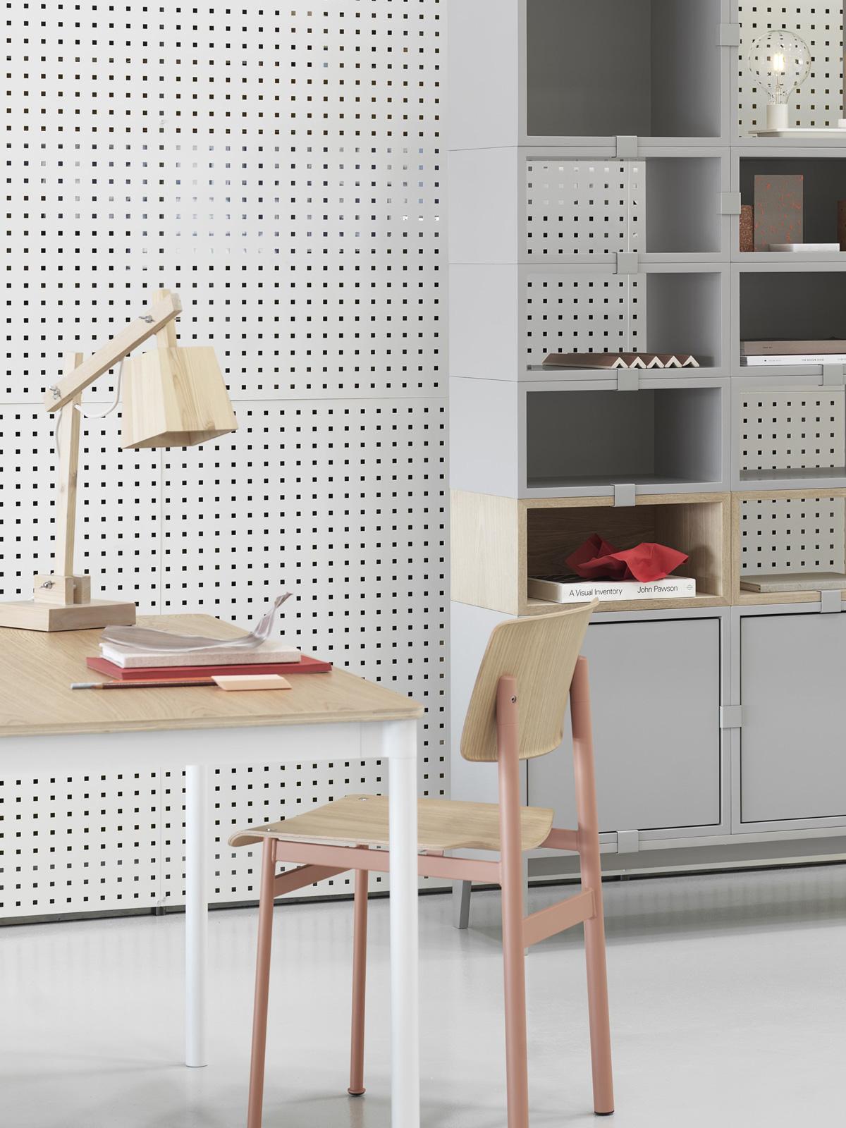 DesignOrt Blog: Schreibtischlampen Tischleuchte Wood von Muuto #skandinavisch #holz #lampe #wohnen