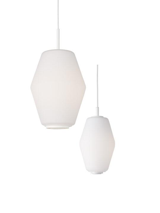Dahl Lampe aus Opalglas von Northern Lighting