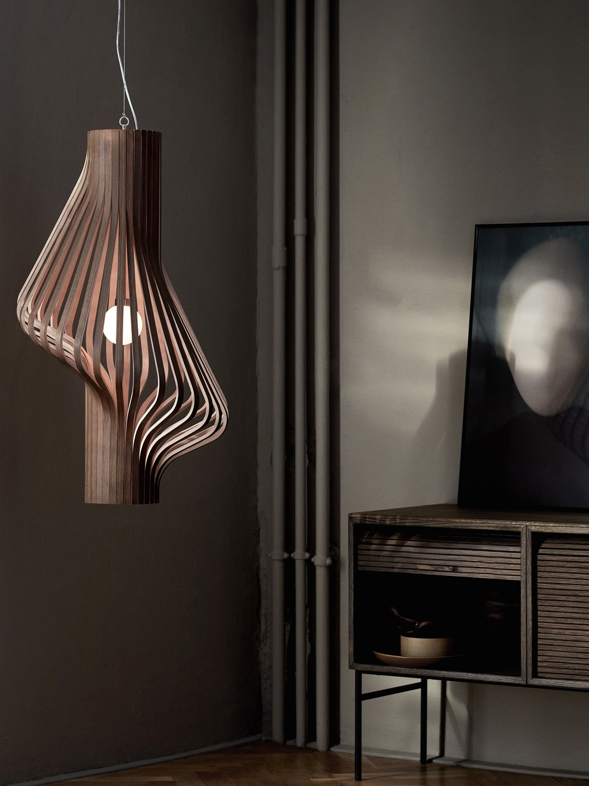 DesignOrt Blog: Holzlampen Diva Northern Lighting