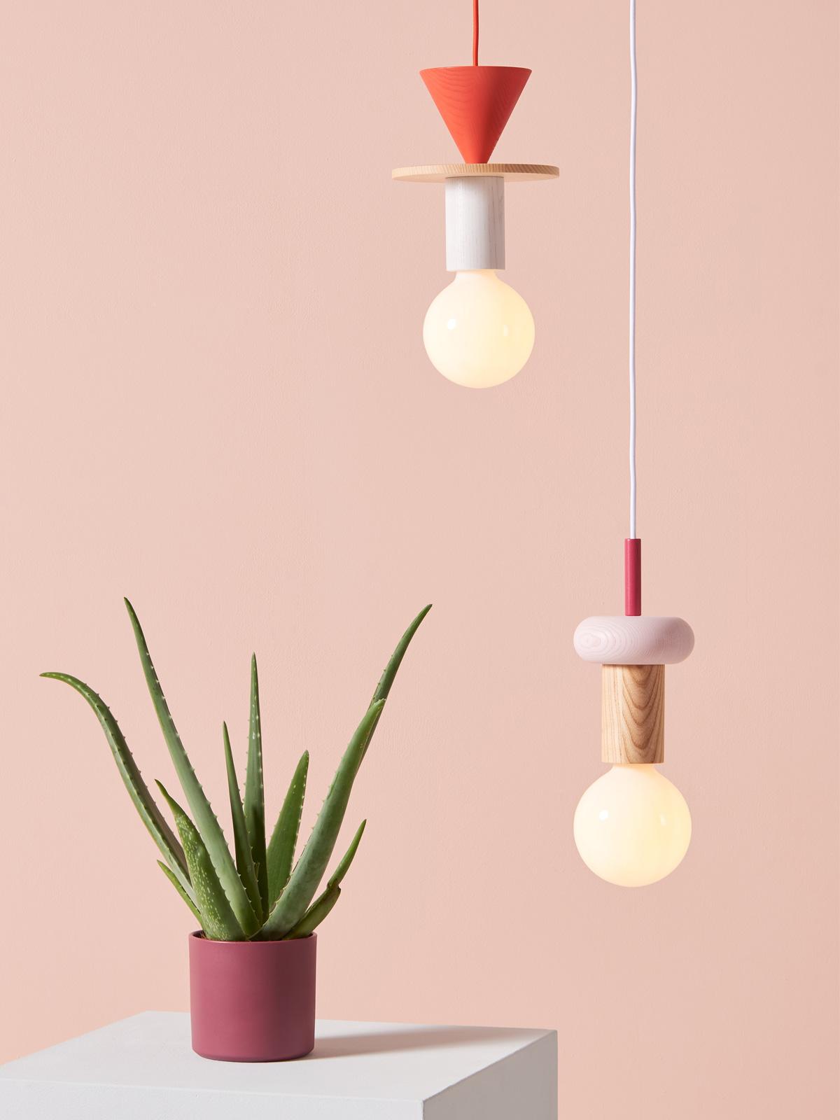 DesignOrt Blog: Was ist eine Systemleuchte? Schneid Junit Pendants nachhaltig Ecodesign