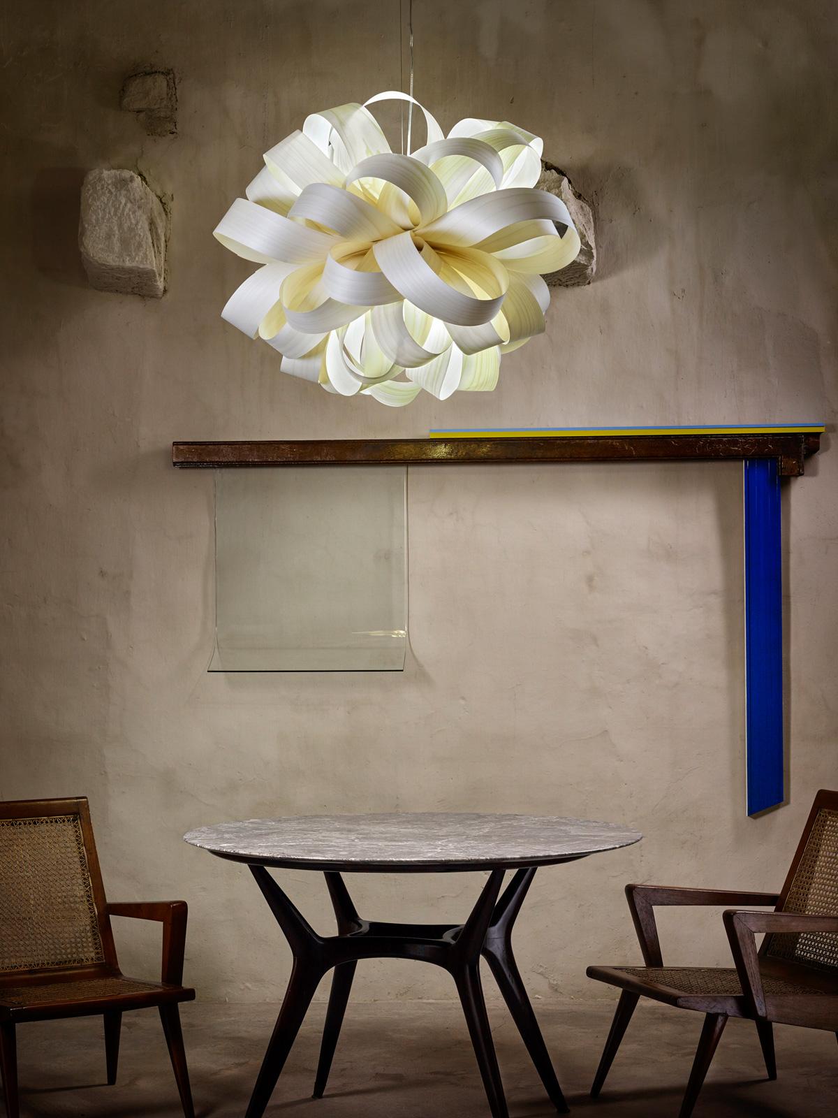 DesignOrt Blog: Furnierholz von LZF Lamps Agatha sb Leuchte