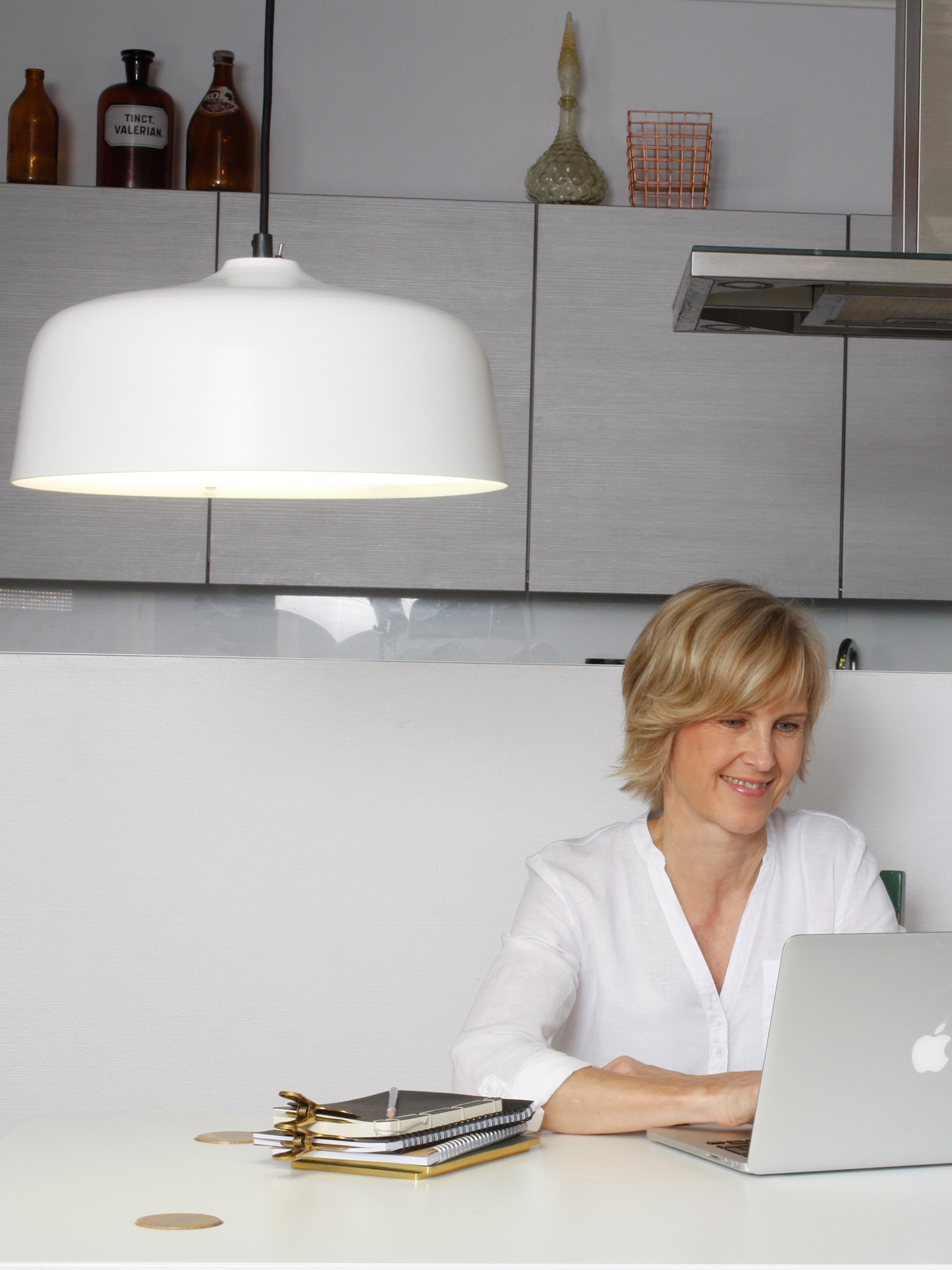 DesignOrt Blog: Beleuchtung für das Home Office Innolux Tageslicht Candeo Haengelampe