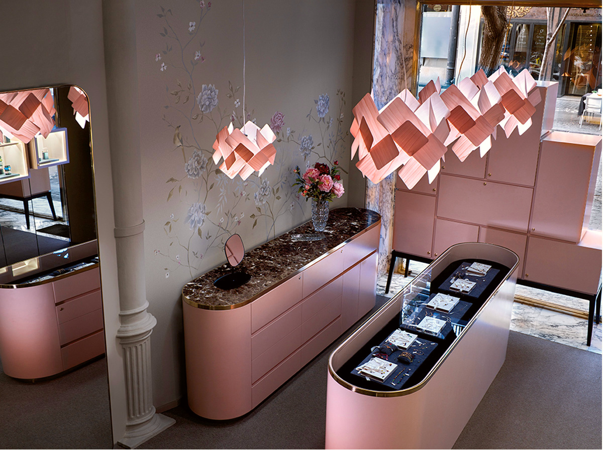 DesignOrt Blog: Faszination Farbe: Holzfurnier von LZF Lamps Escape