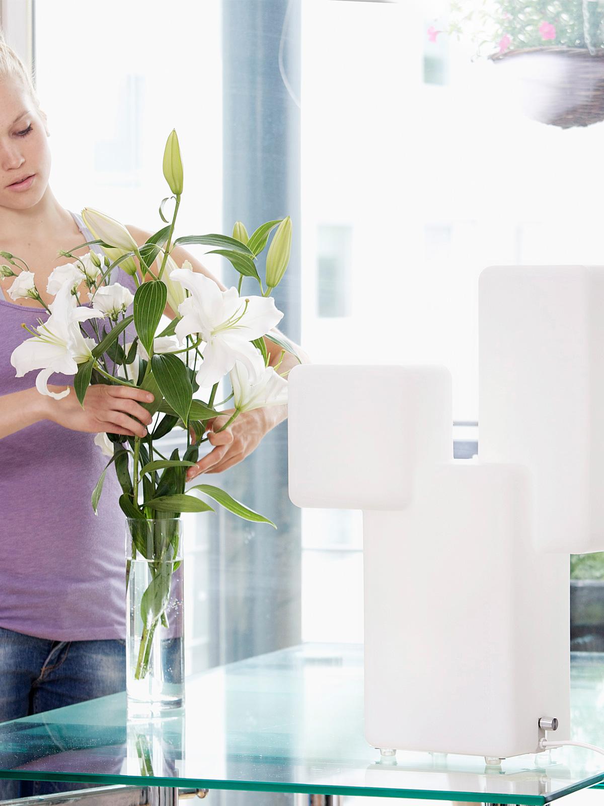 DesignOrt Blog: Lichttherapie Innolux Kubo Leuchte