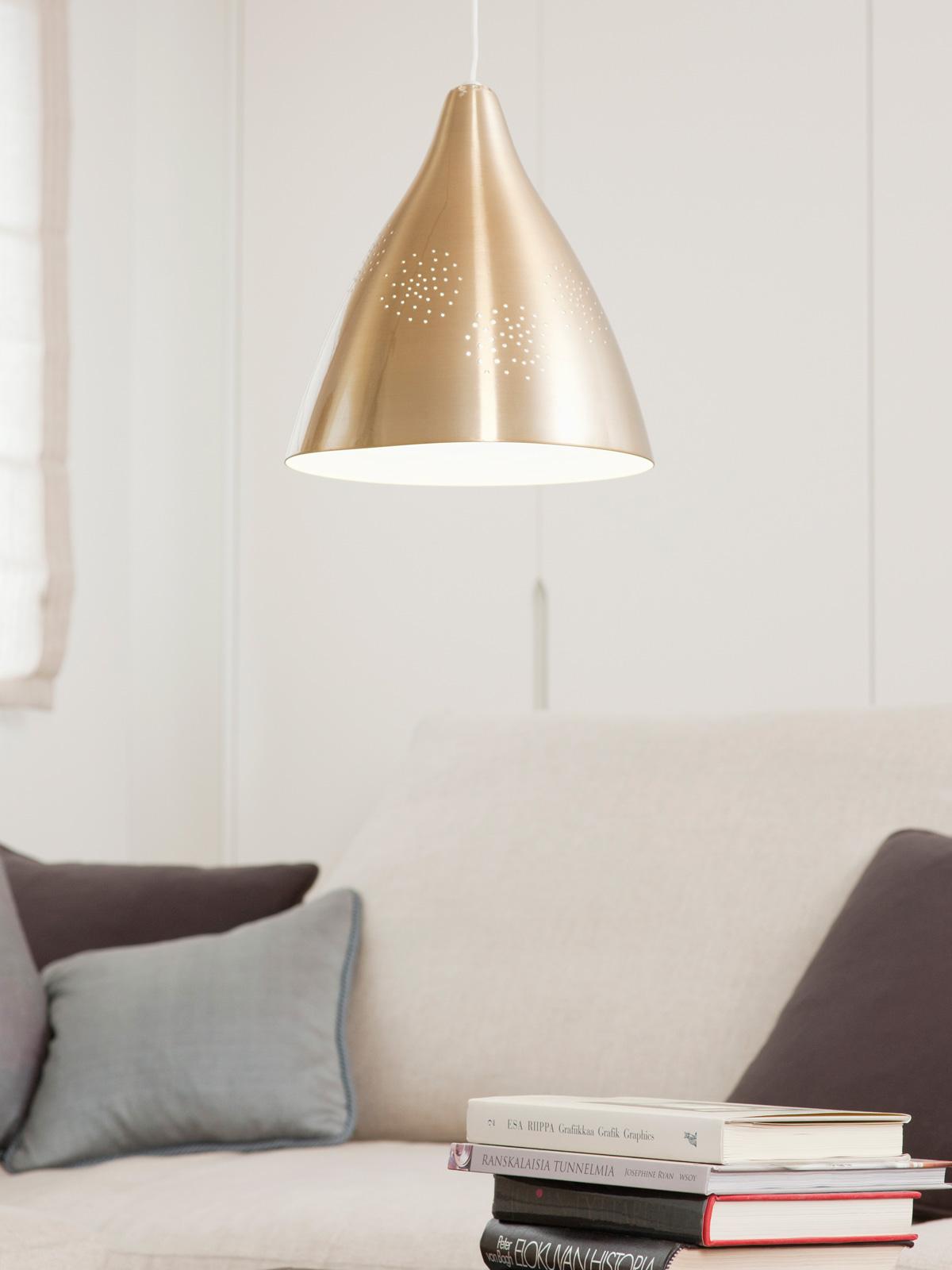DesignOrt Blog: Messingleuchten Orno Innolux Lampe Lisa finnischer Design Klassiker von Lisa Johansson-Pape