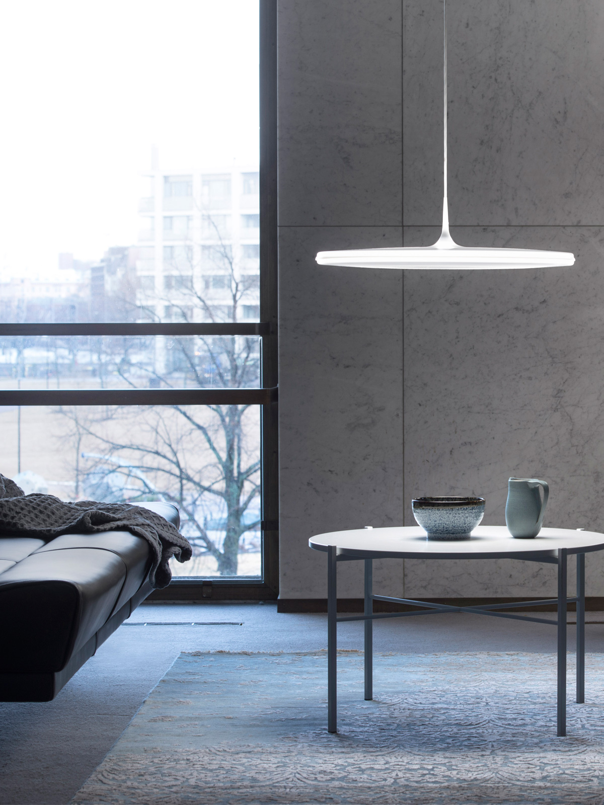 DesignOrt Blog: flache Pendelleuchten Pendelleuchte Tip von Innolux Tapio Anttila