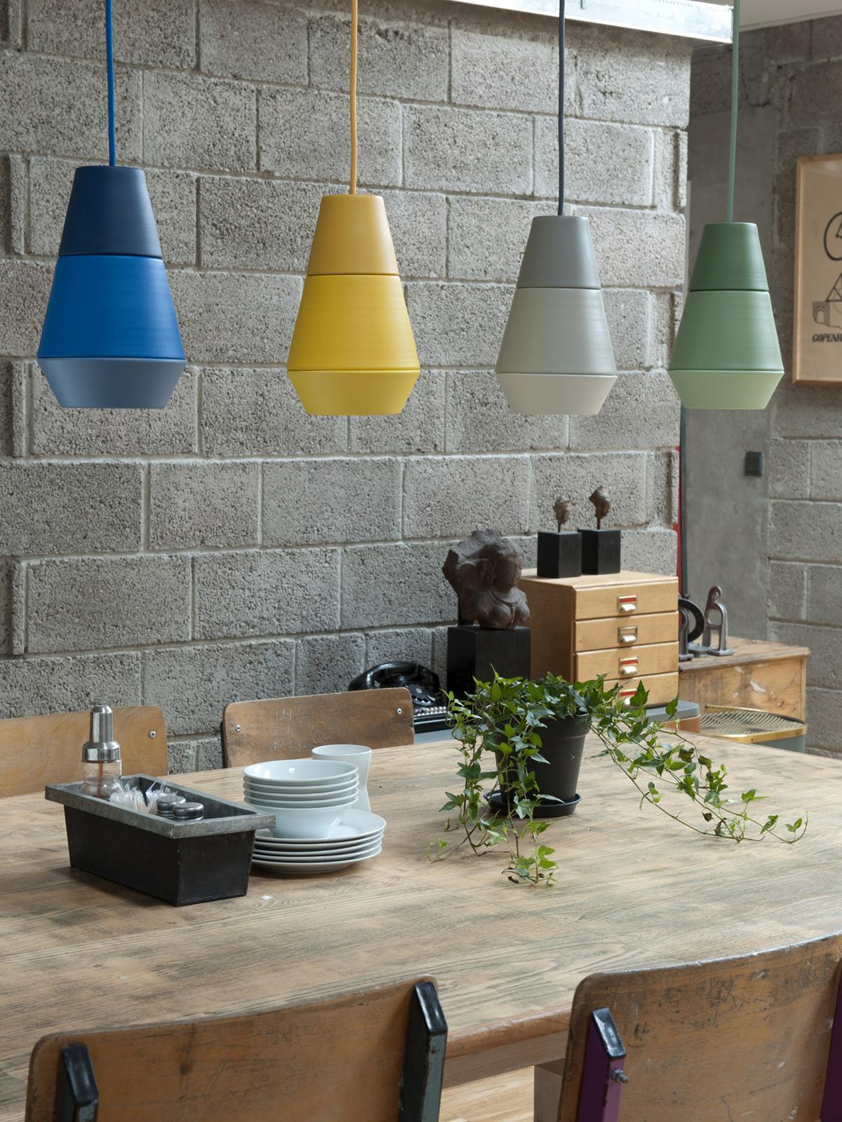 DesignOrt Blog: Esstischleuchten Modulare Systemleuchte ili ili Grupa products