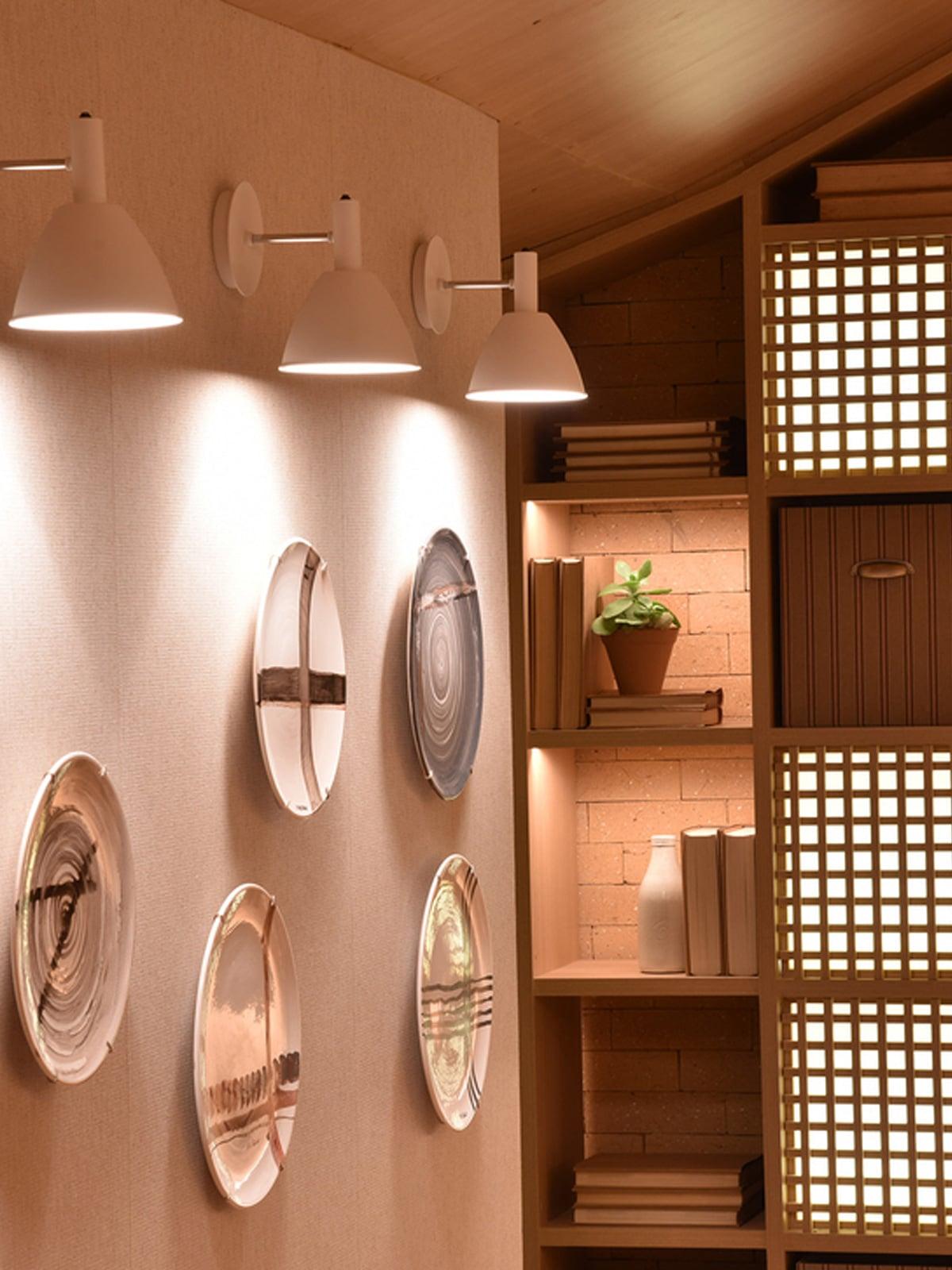 Bauhaus Wandlampe Lumini