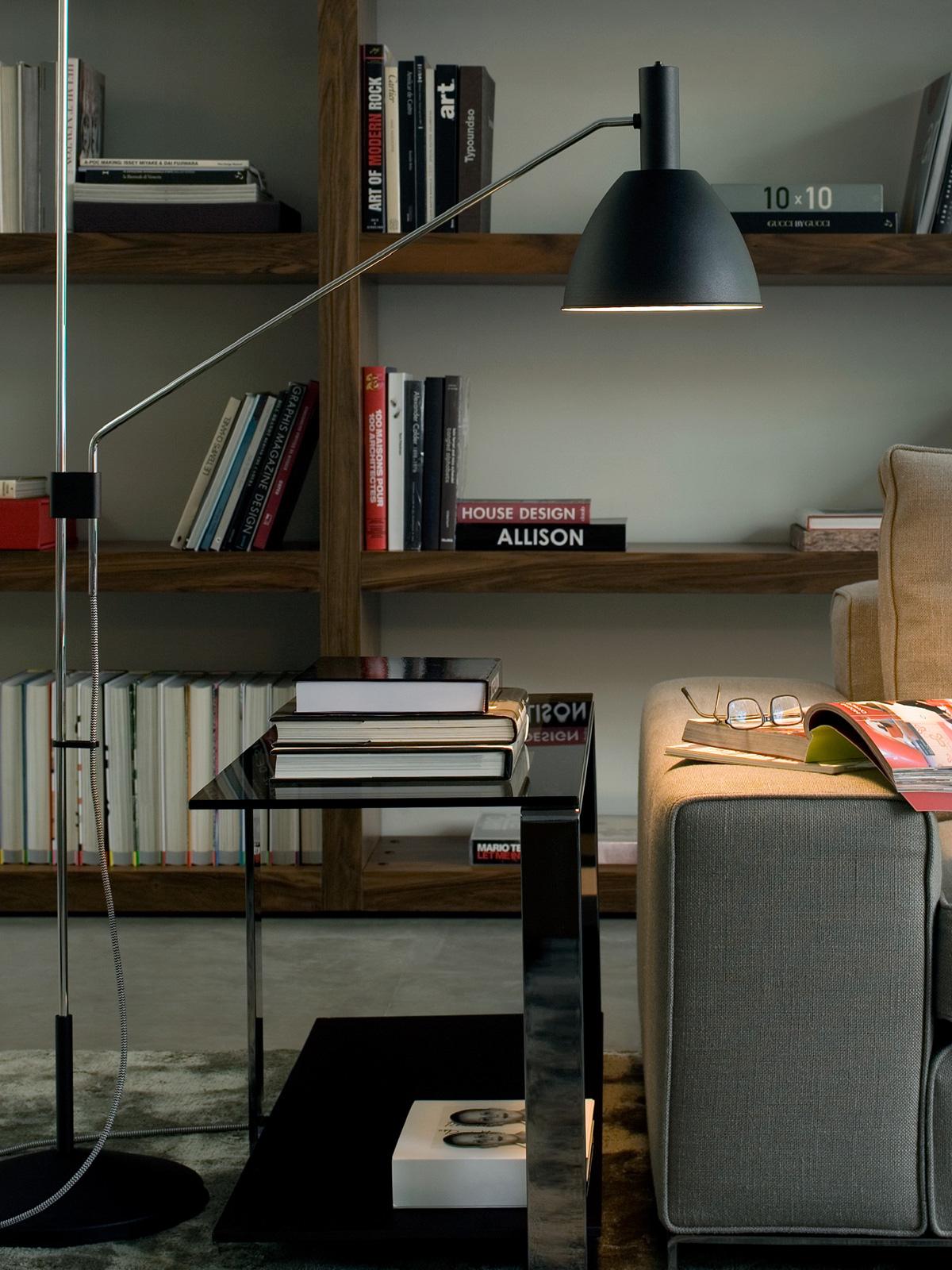 DesignOrt Blog: neue Stehleuchten bei DesignOrt Lumini Stehleuchte Bauhaus 90 F