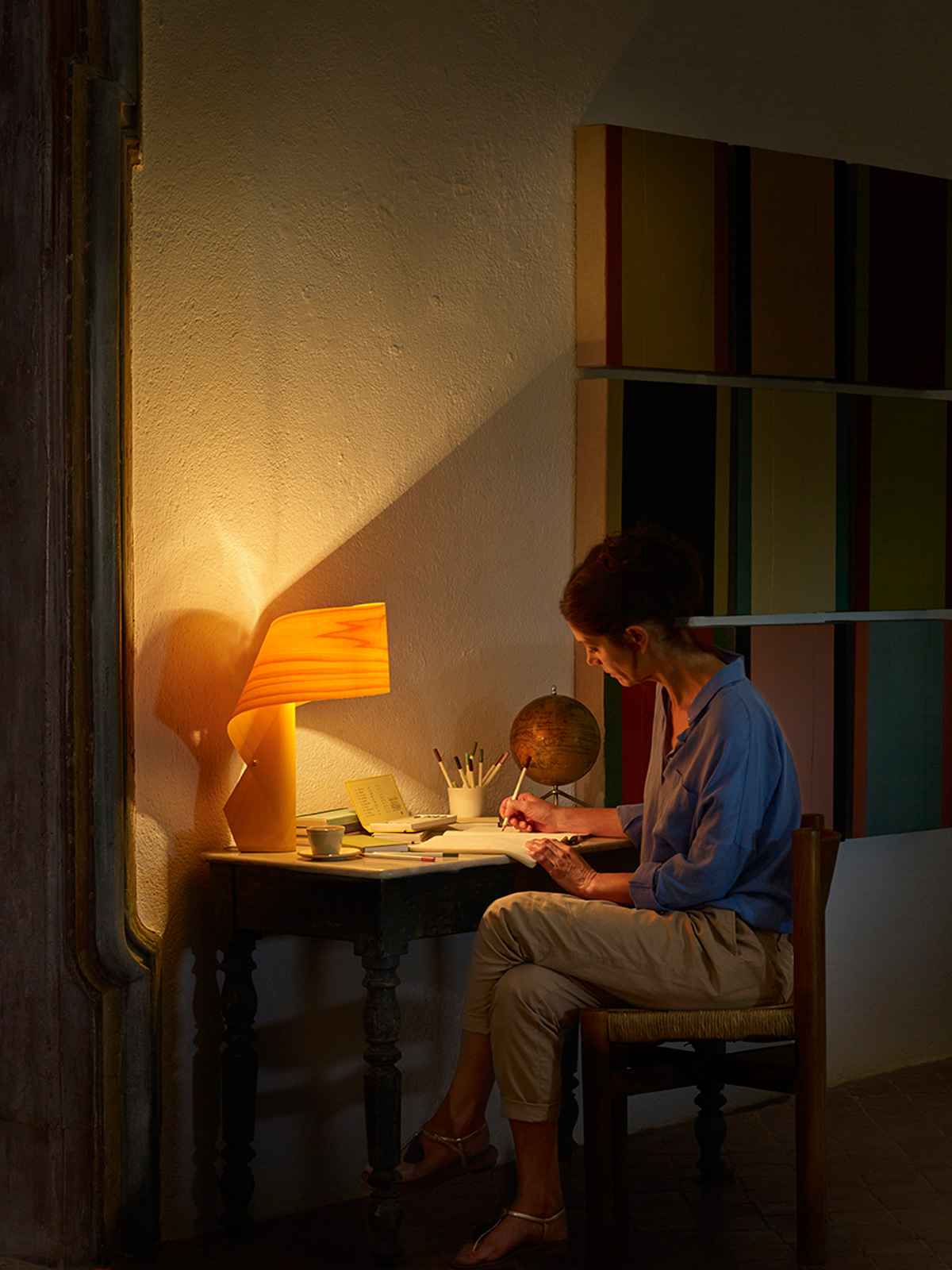 DesignOrt Blog: LZF Lamps Air Tischleuchte
