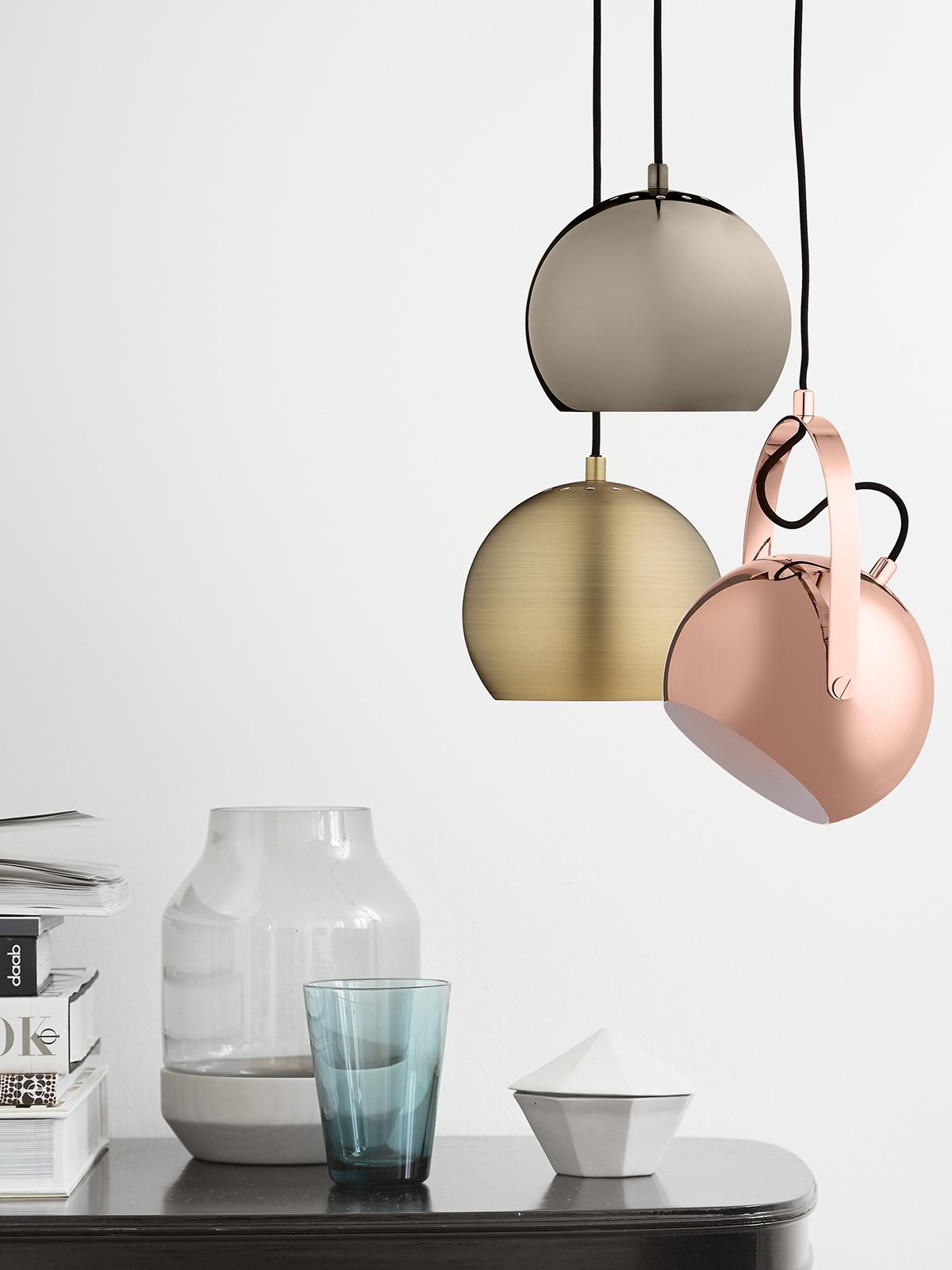 DesignOrt Blog: Dänische Designerleuchten Pendelleuchte Ball von Frandsen