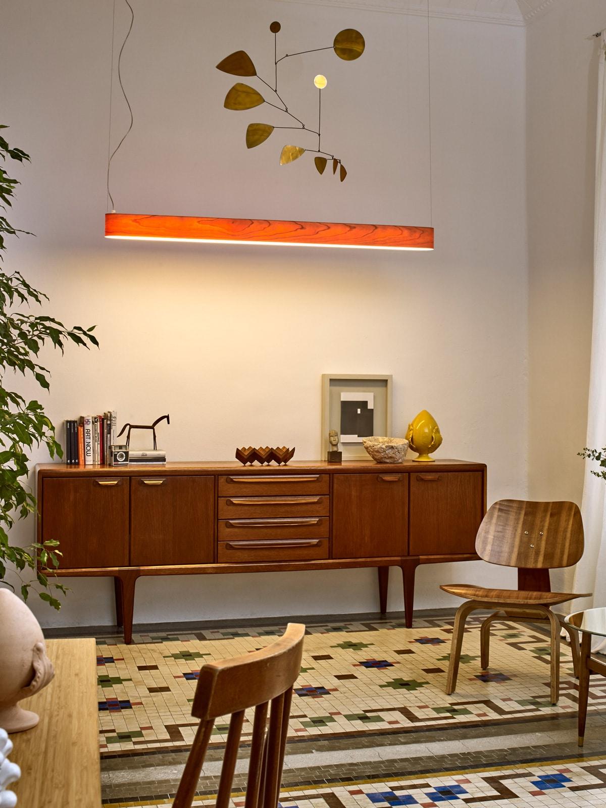 DesignOrt Blog: LZF Designer - I-Club Slip LED Holzleuchte von LZF