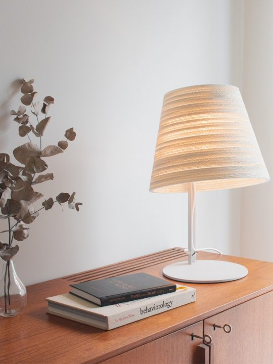 Scraplights Tilt White Tischleuchte Graypants