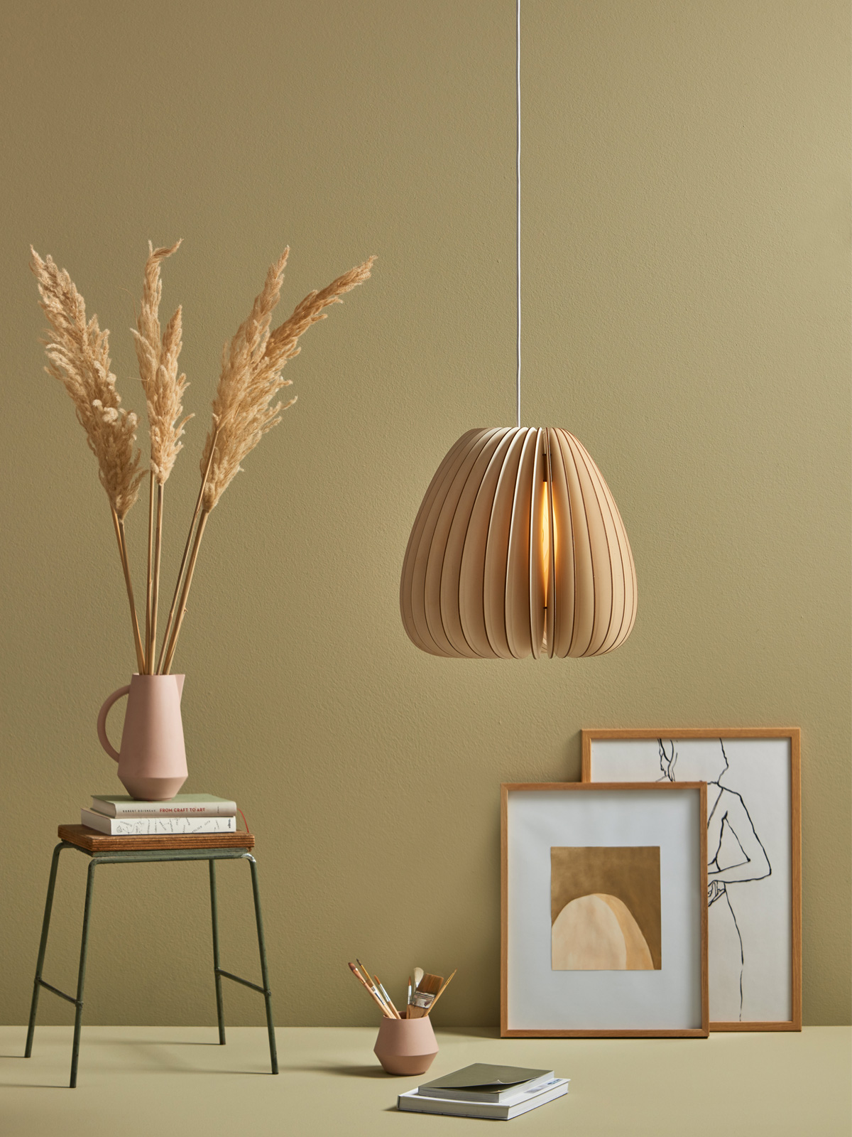 DesignOrt Blog: Holzlampen Volum aus der Serie A von Schneid