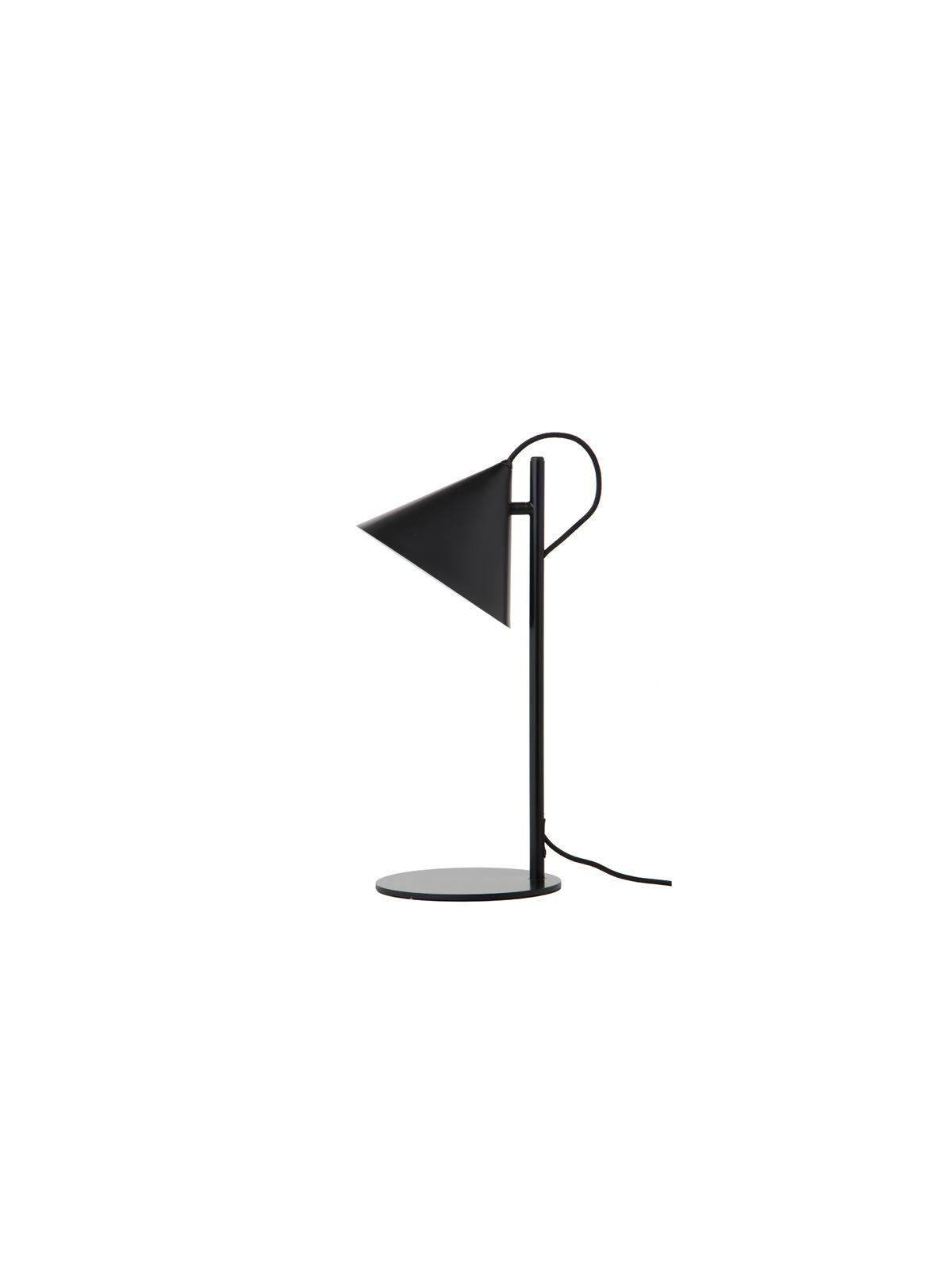 Benjamin Table Schwarz Frandsen Tischlampe DesignOrt Designerleuchten Berlin Onlineshop