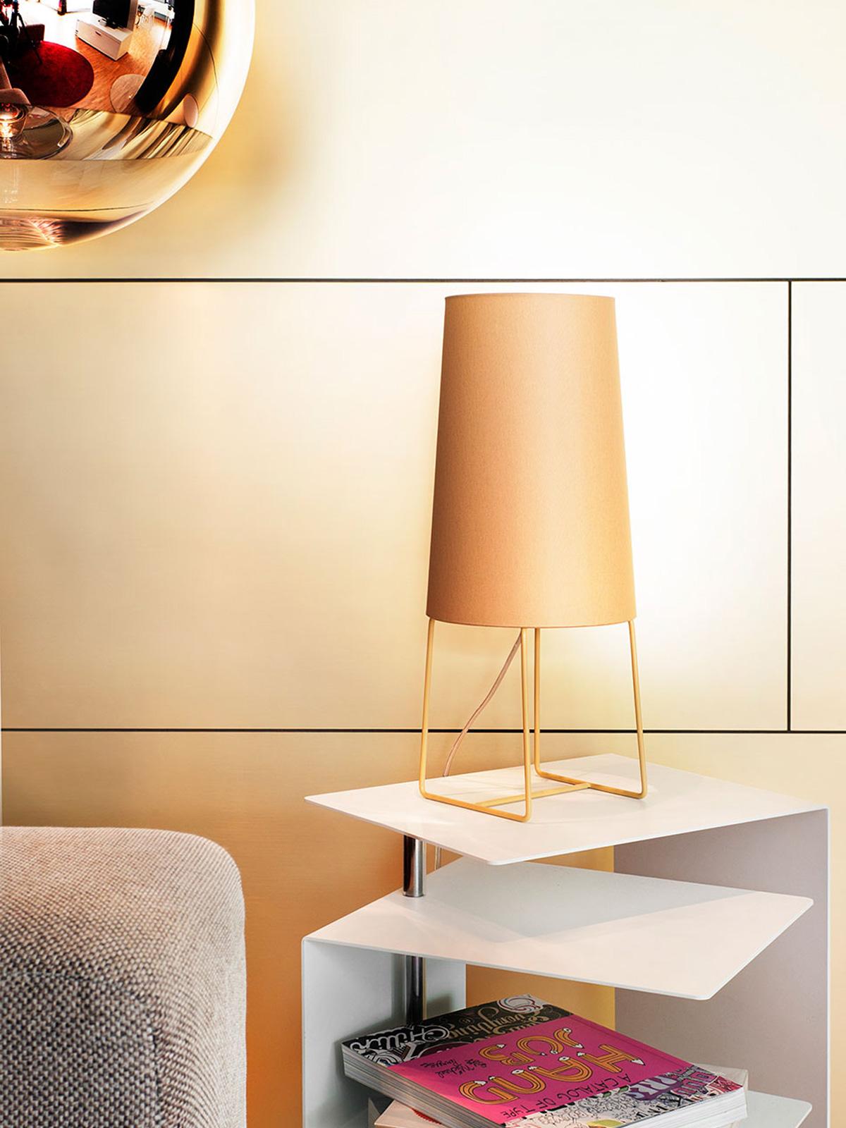 DesignOrt Blog: Farbenfrohe Leuchten frauMaier MiniSophie Tischleuchte