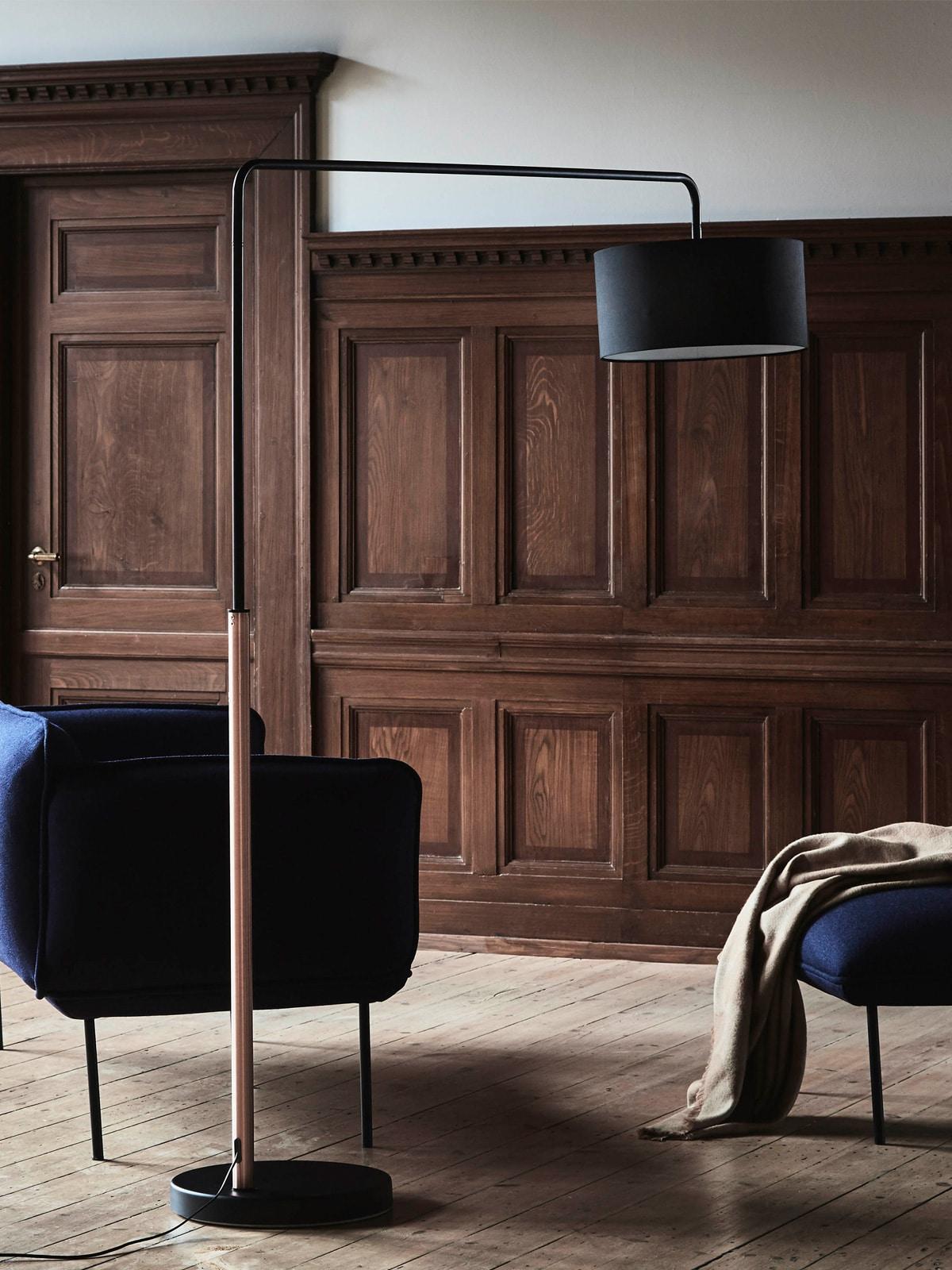 DesignOrt Blog: Bogenlampen Stehleuchte Shower Mega von Frandsen