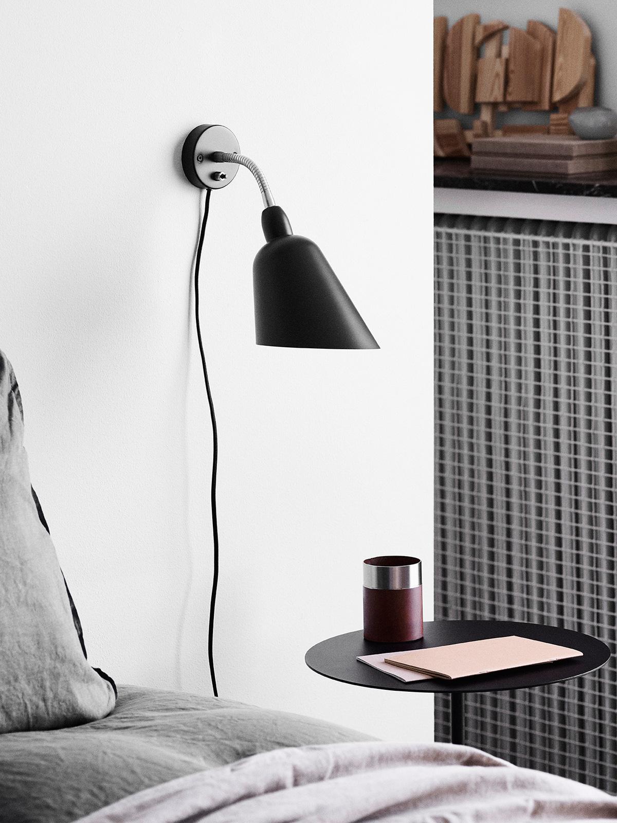 DesignOrt Blog: Designer im Portrait: Arne Jacobsen Wandleuchte Bellevue AJ9 &tradition
