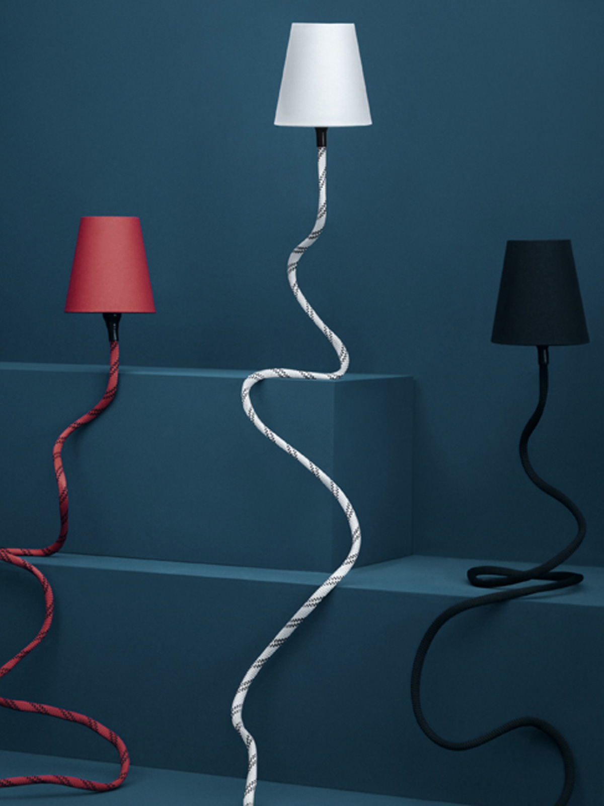 Design aus Berlin Climbing Lamp von Son of Nils