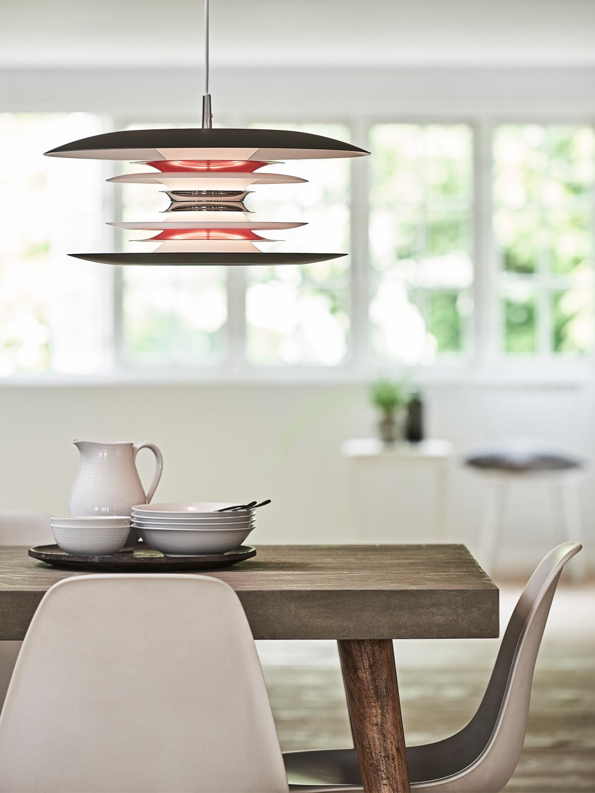 DesignOrt Blog: Neue Leuchten für den Esstisch Belid Diablo Designerleuchte für blendfreies Licht