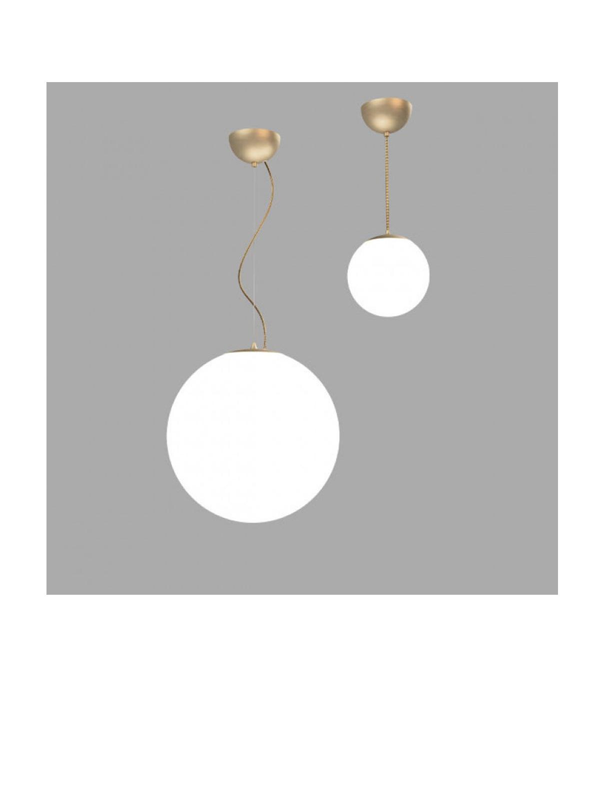 Drop Innermost Messing Leuchte Glas Designort
