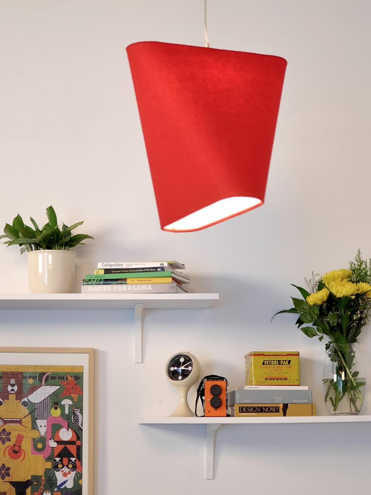 DesignOrt Blog Pendelleuchte aus Wolle MnM von Innermost
