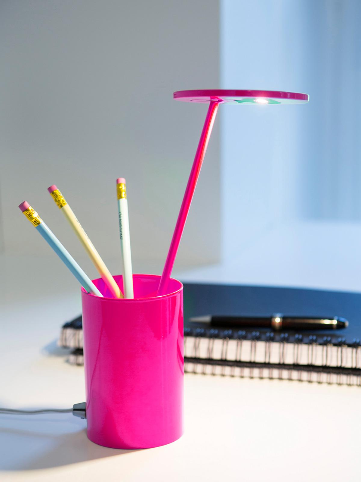 DesignOrt Blog: Farbenfrohe Leuchten ET von Formagenda in pink