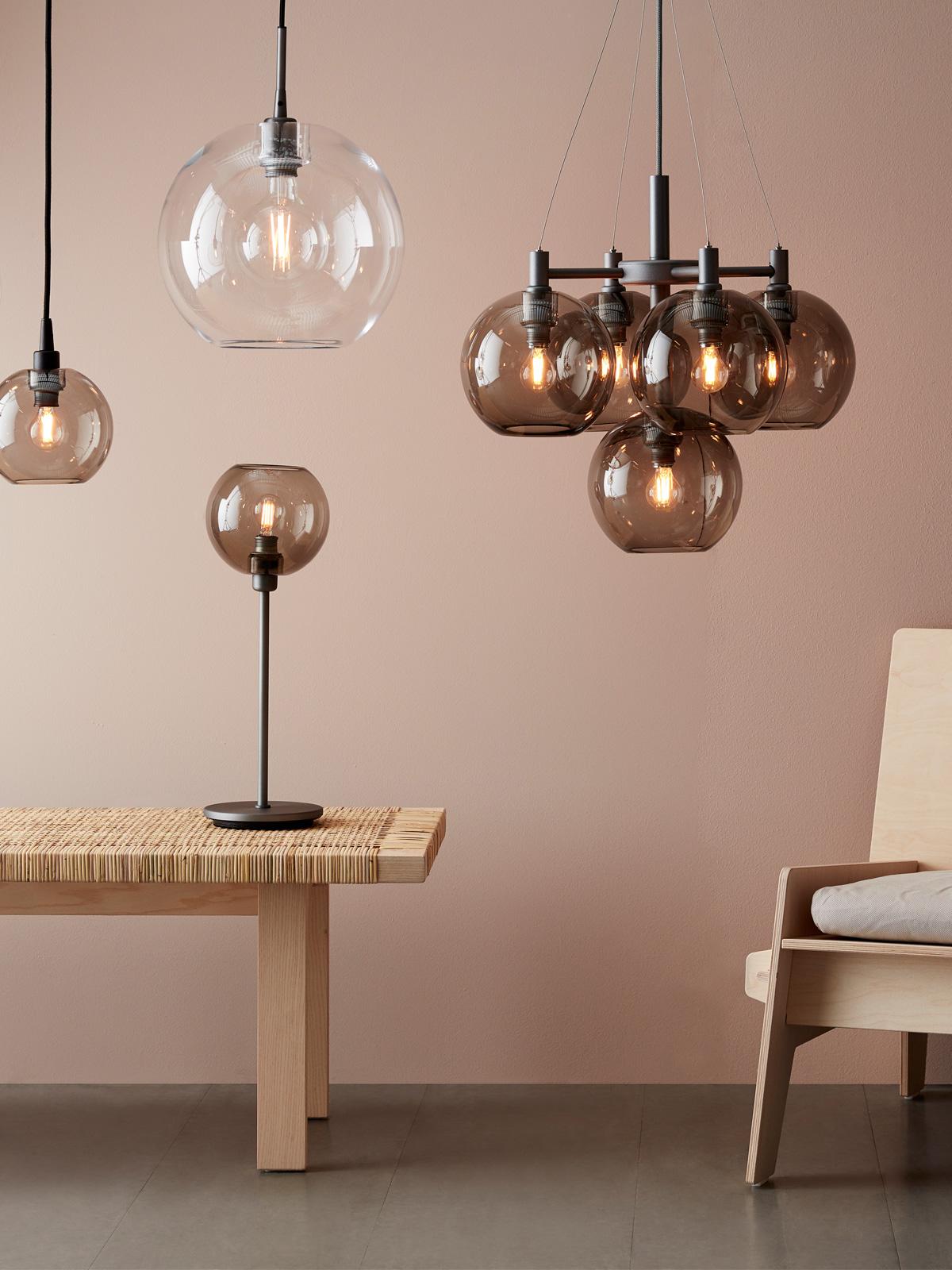Belid Glasleuchten Gloria skandinavisch Design Leuchten DesignOrt