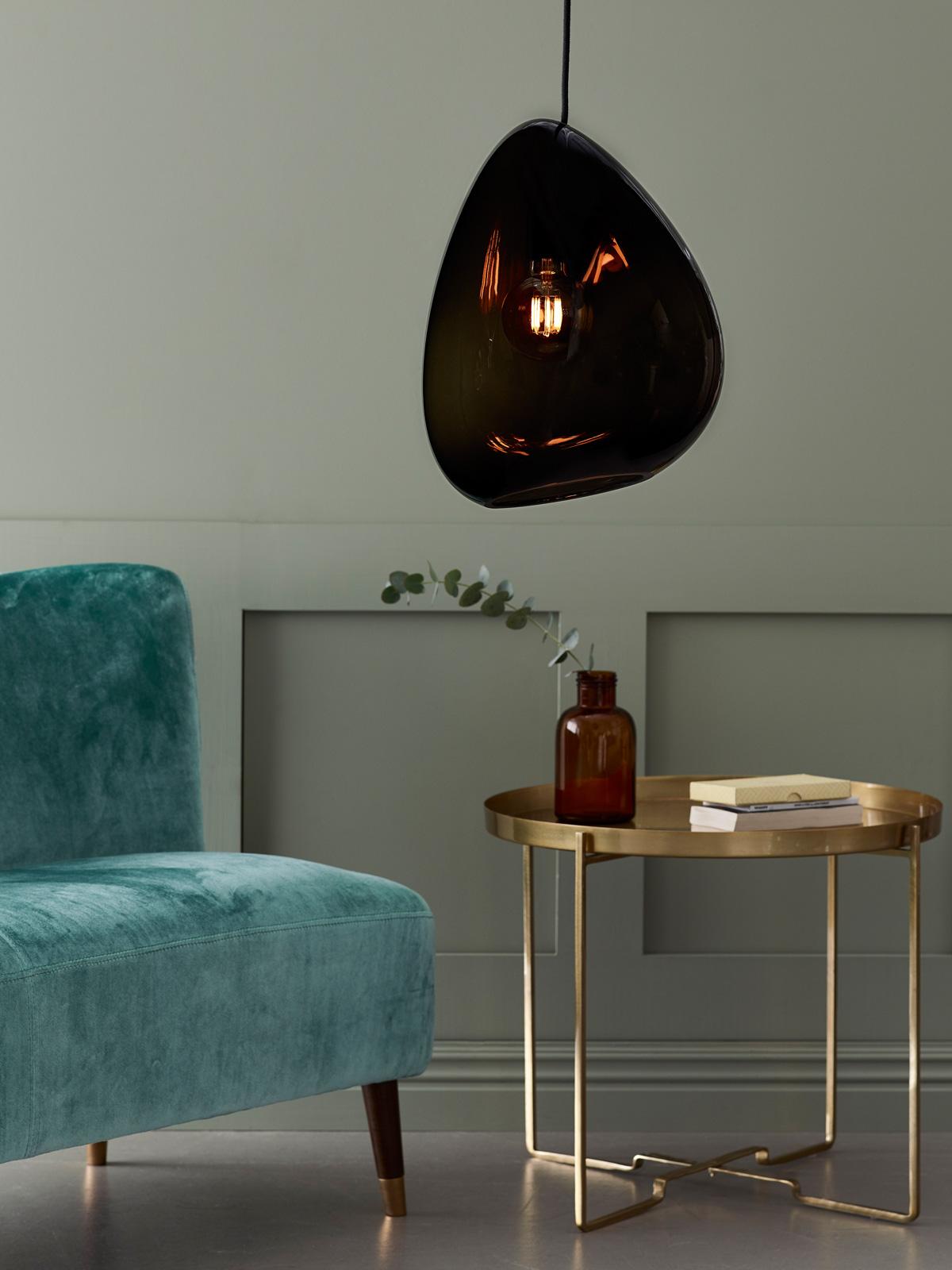 DesignOrt Blog: Trend: Rauchglas Glasleuchte Ocean von Belid