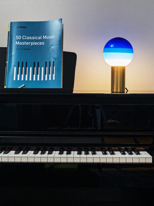 Marset Dipping Light Tischlampe in Blau