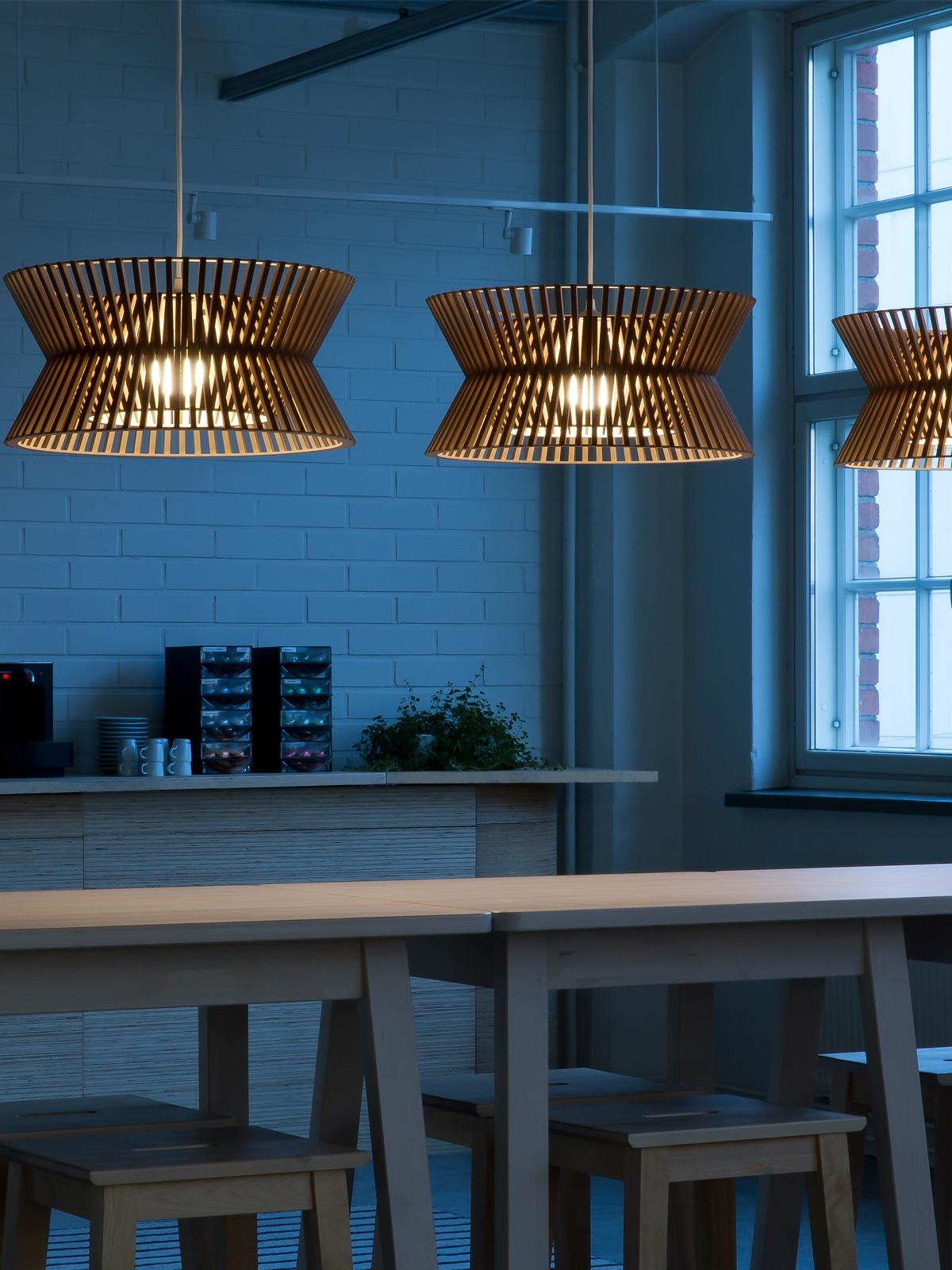 DesignOrt Blog: finnische Designerleuchten Kontro 6000 Pendelleuchte