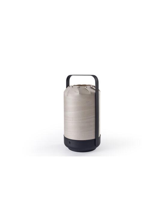 Mini Chou in Grau tragbare LED Leuchte LZF