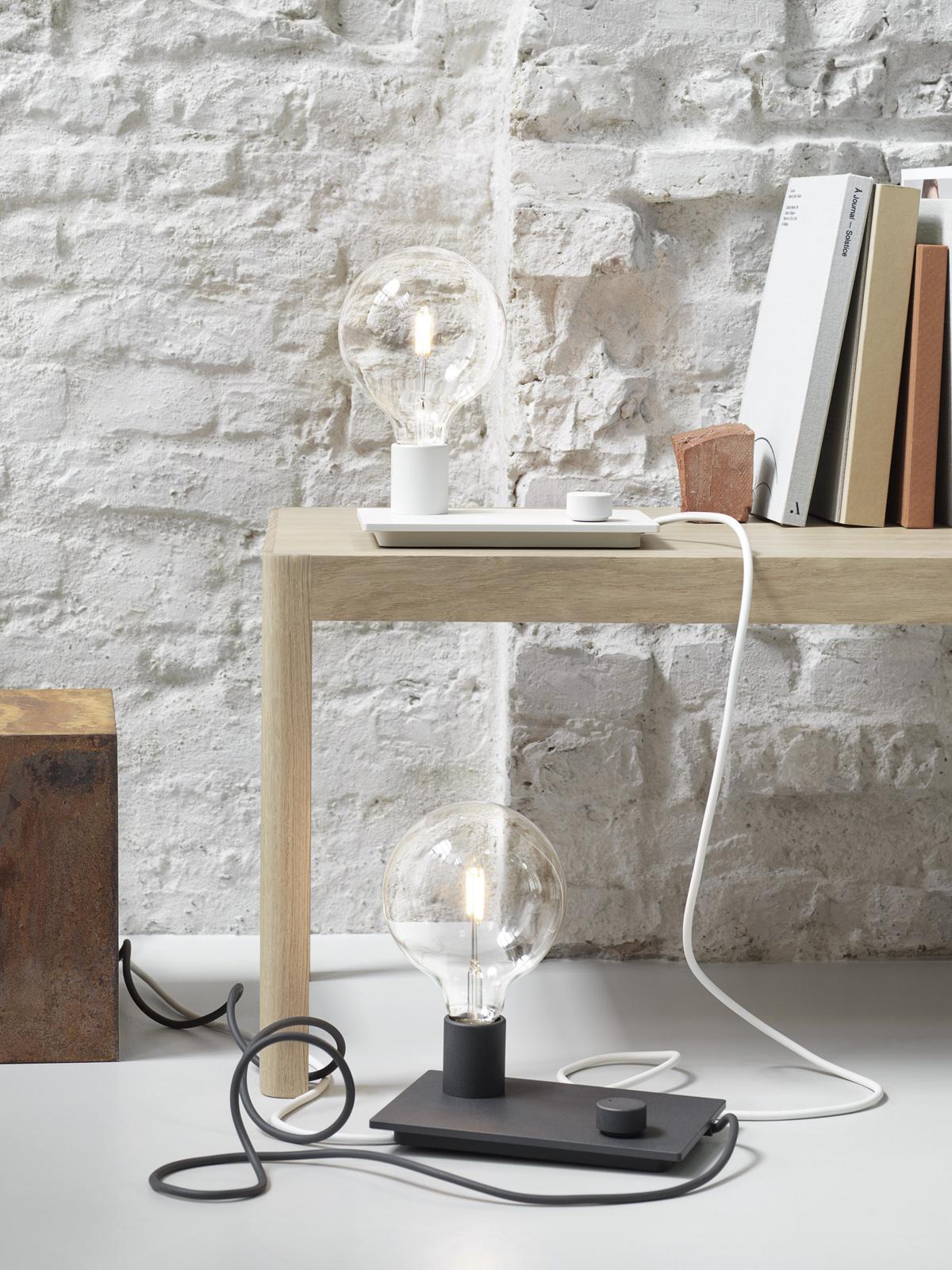 DesignOrt Blog: Designer im Portrait TAF Studio Control dimmbare Tischleuchte mit Drehknopf von Muuto