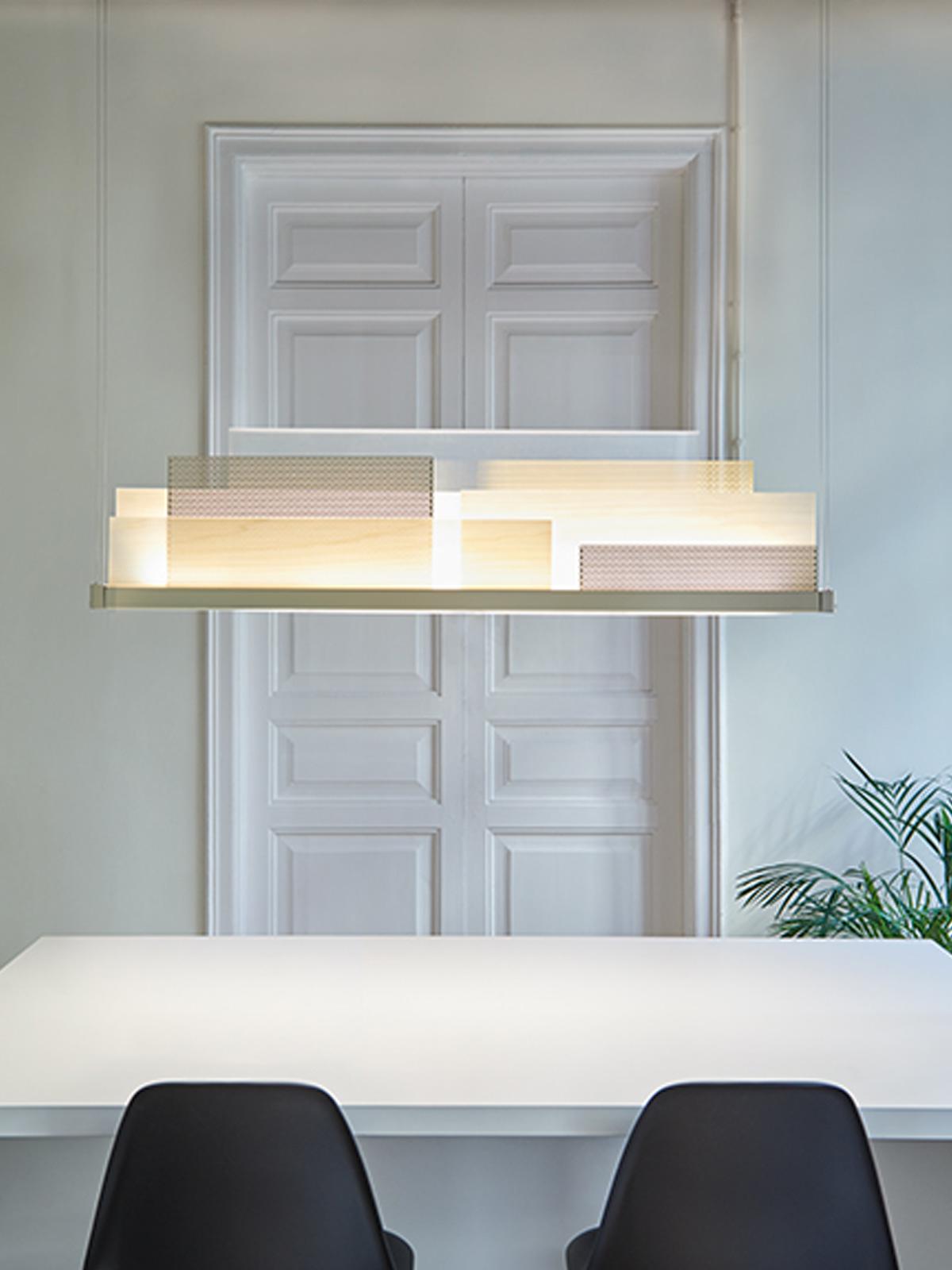 DesignOrt Blog: Lange Pendelleuchte Skyline Pendelleuchte Deko Tisch LZF Lamps