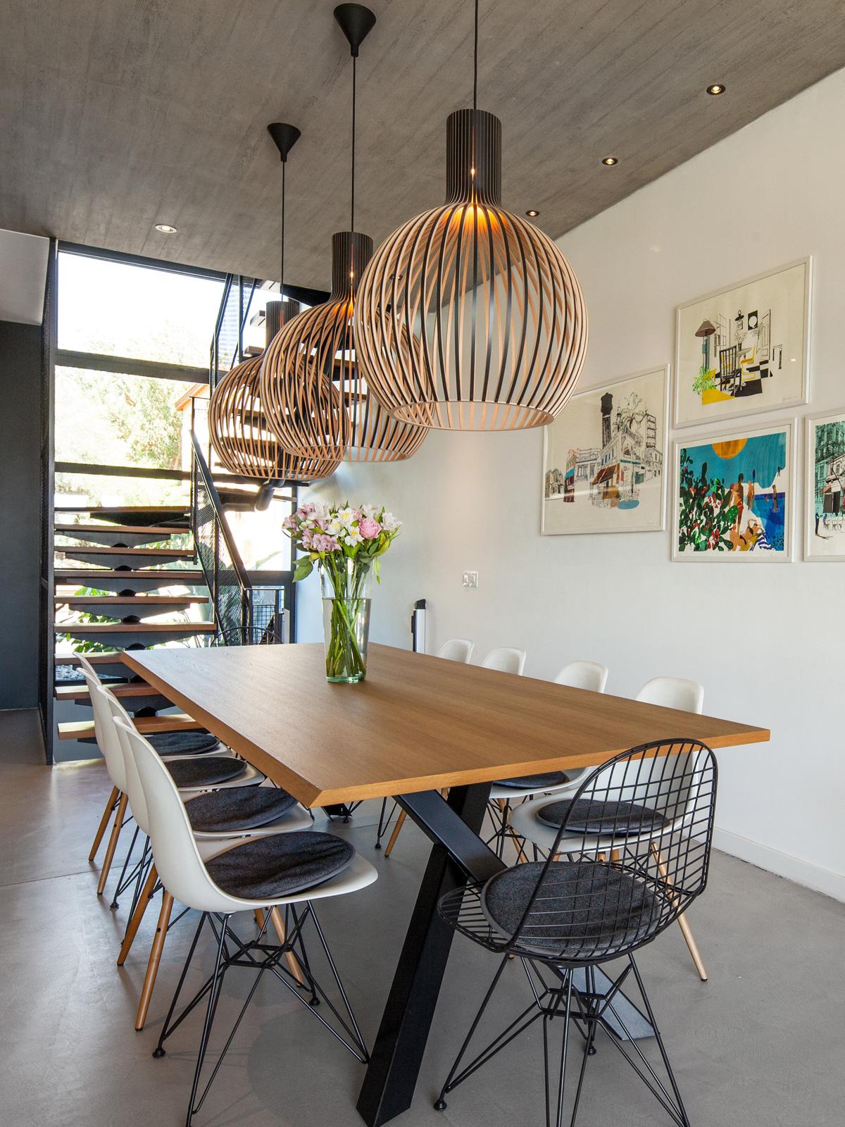 DesignOrt Blog: Dreierhängung von Pendelleuchten Octo 4240 Trio von Secto Design