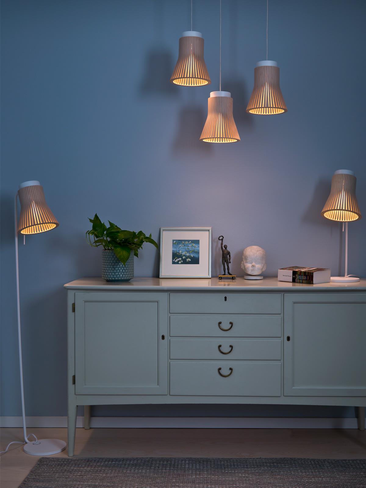Lampenfamilie Petite von Secto Design