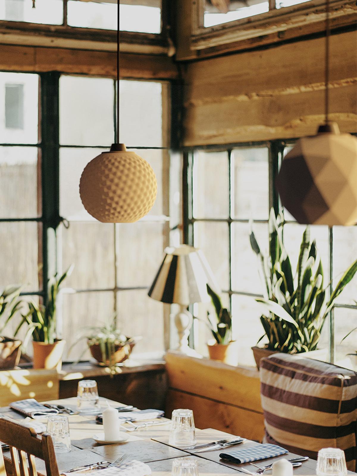 DesignOrt Blog: Polyluma Mono Bulp Leuchte 3 D Drucker DesignOrt Berlin Design nachhaltig