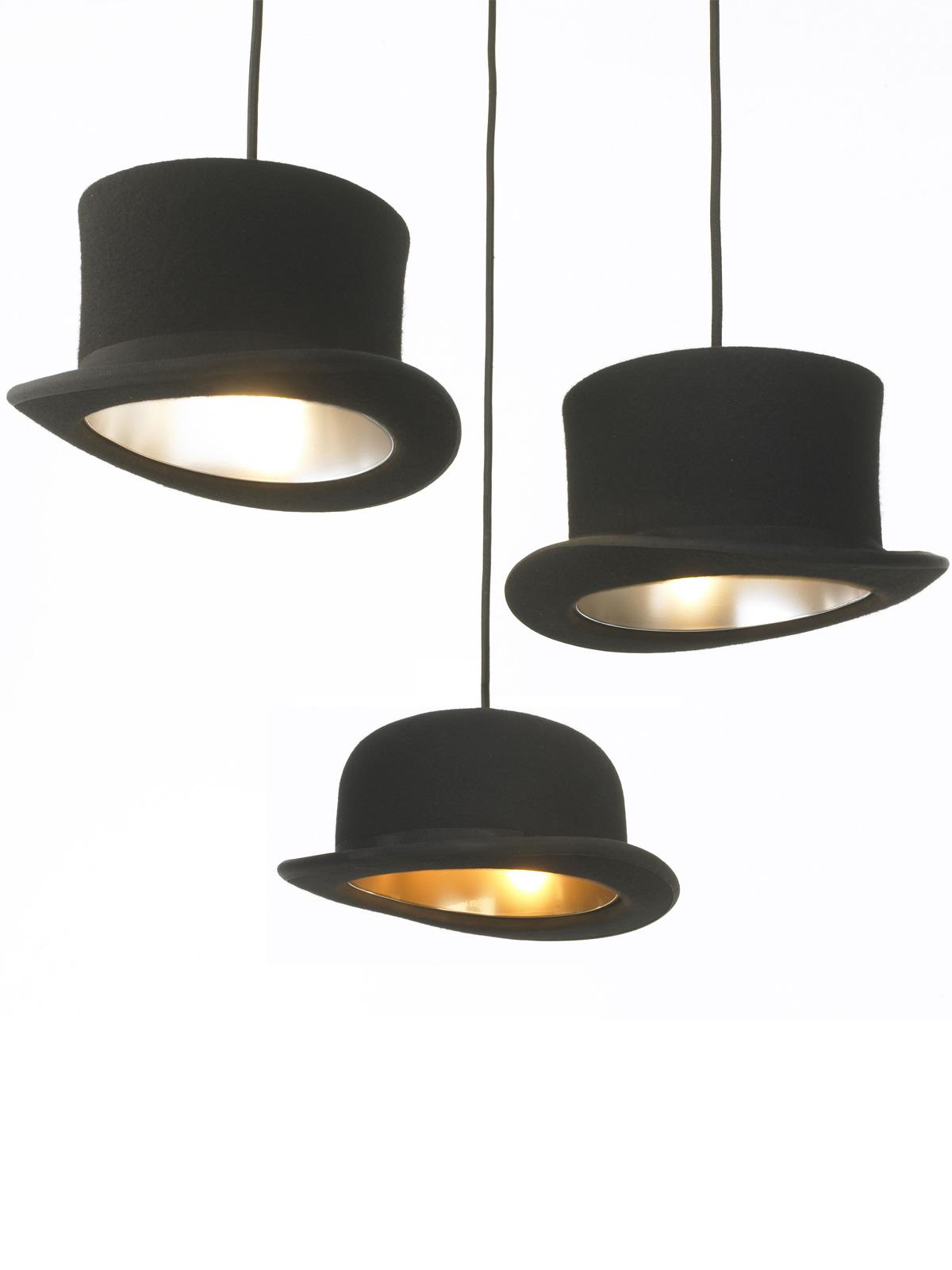 Jeeves & Wooster Pendelleuchten Hutlampen Innermost