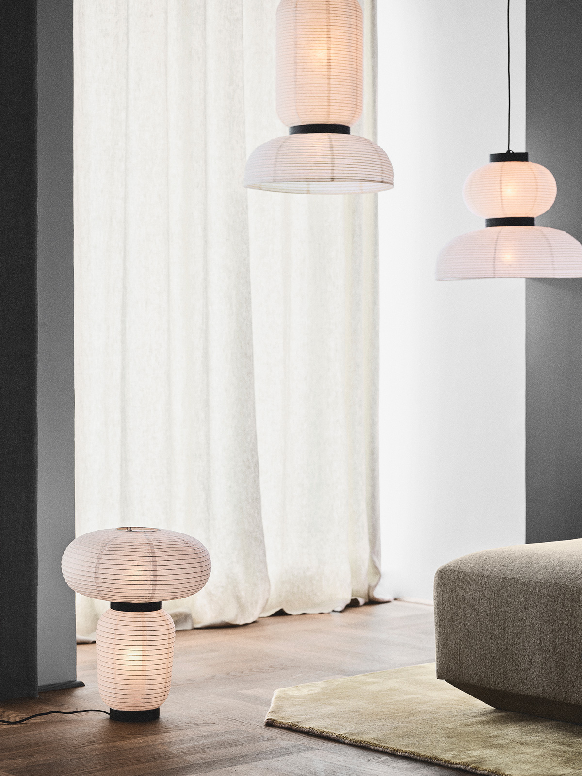 &tradition Formakami Papierlampen Design aus Papier DesignORt Onlineshop Berlin