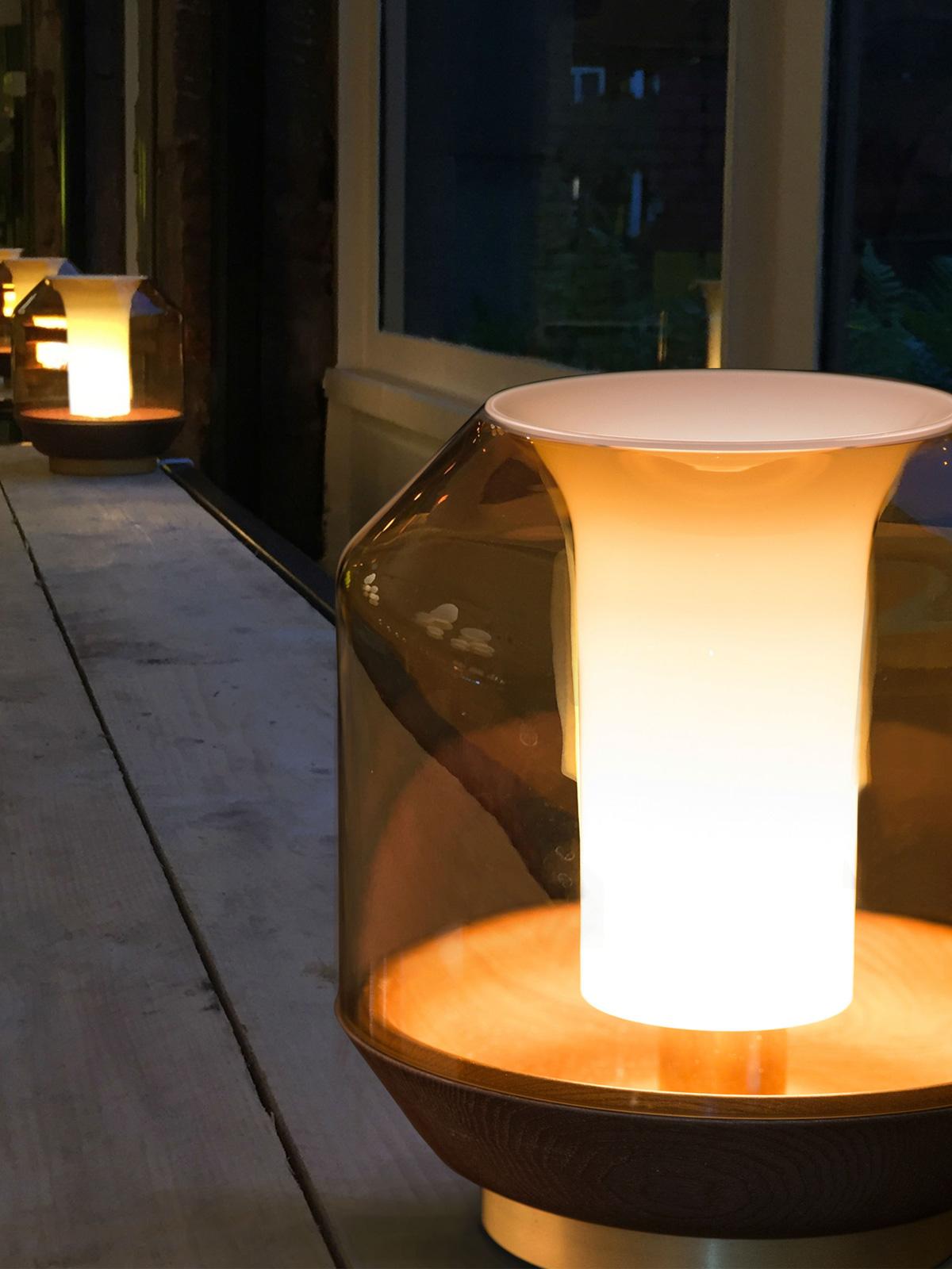 DesignOrt Blog: Stimmungslicht Lateralis Tischlampe Innermost