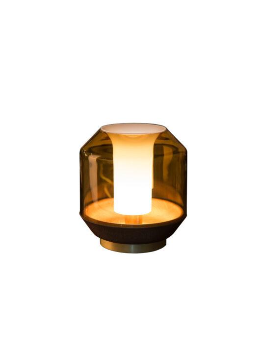 Innermost Laterlis Tischleuchte aus Glas