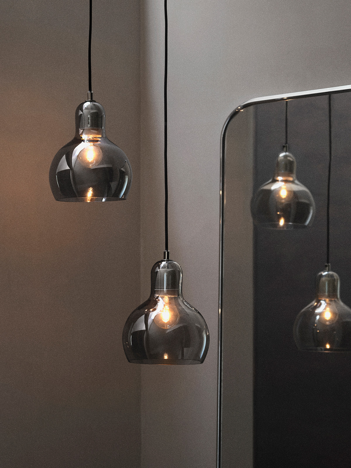 &tradition Mega Bulb SR2 Silver Glasleuchte Sofie Refer DesignOrt Berlin