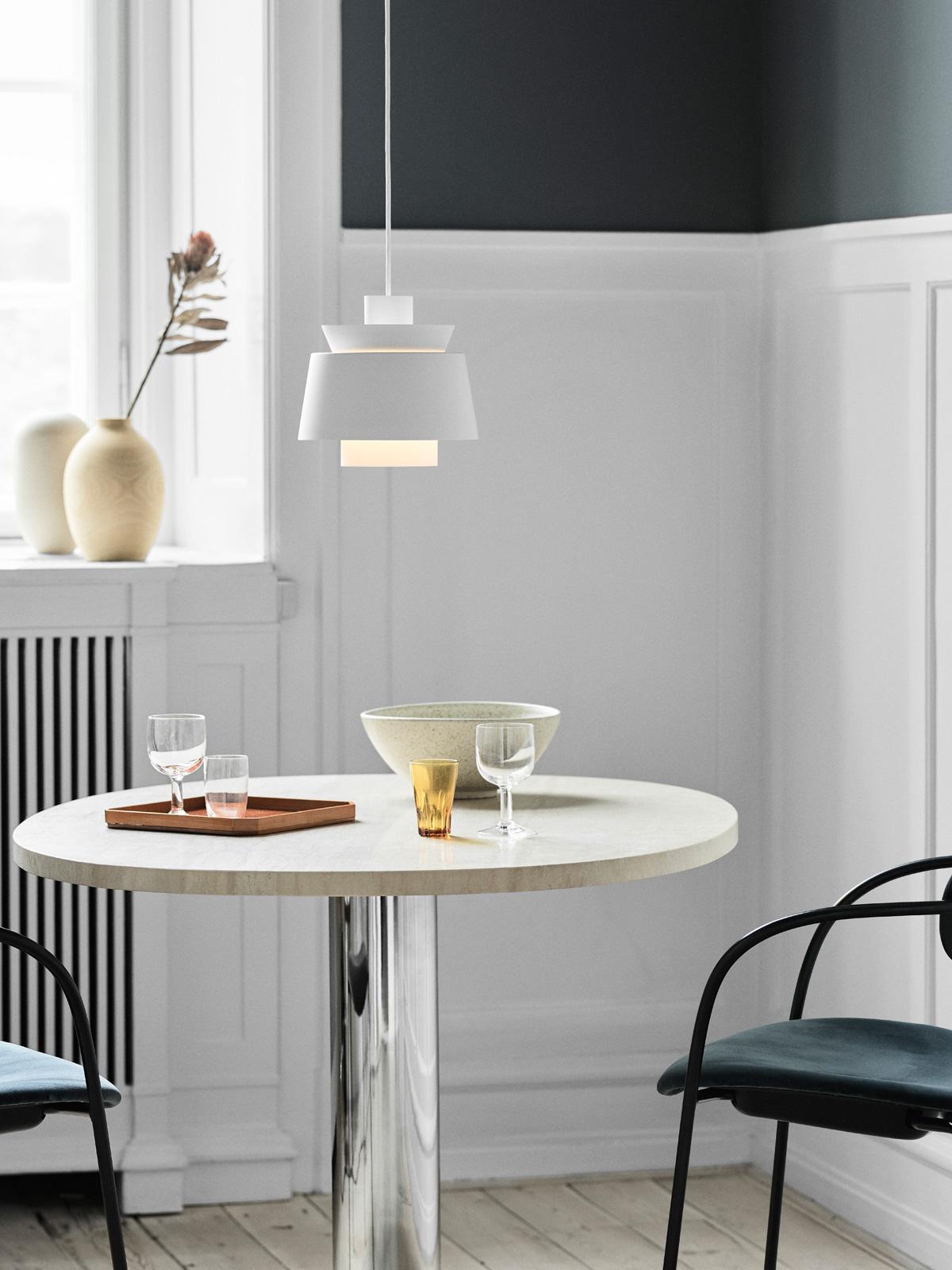 DesignOrt Blog: &tradition Utzon Pendelleuchte Hängelampe skandinavisch Design Klassiker Lampe skandinavisch