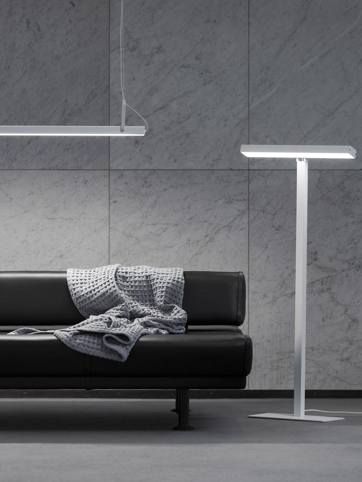 DesignOrt Blog: Finnische Designerleuchten Valovoima Lampen zur Lichttherapie Valovoima Floor