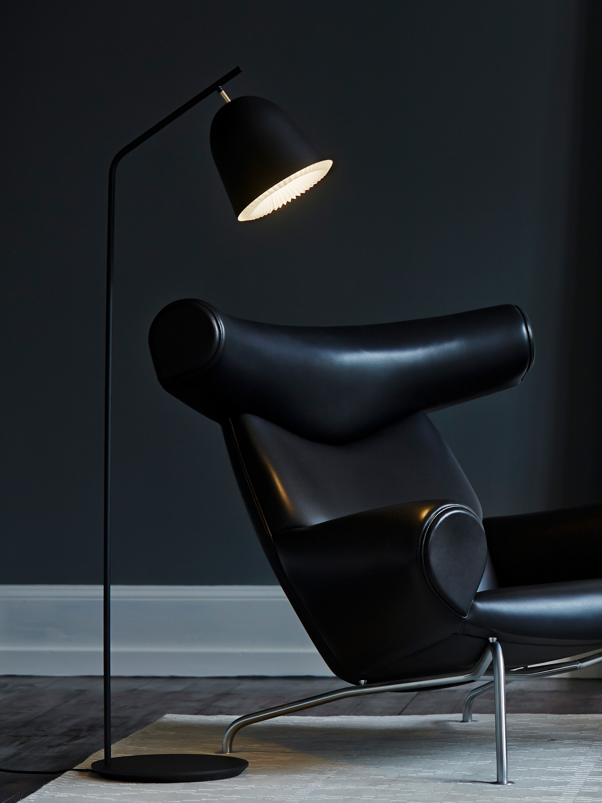 DesignOrt Blog: Best of DesignOrt Wohnideen Caché Floor Stehleuchte von Le Klint DesignORt Onlineshop Lampenladen Berlin
