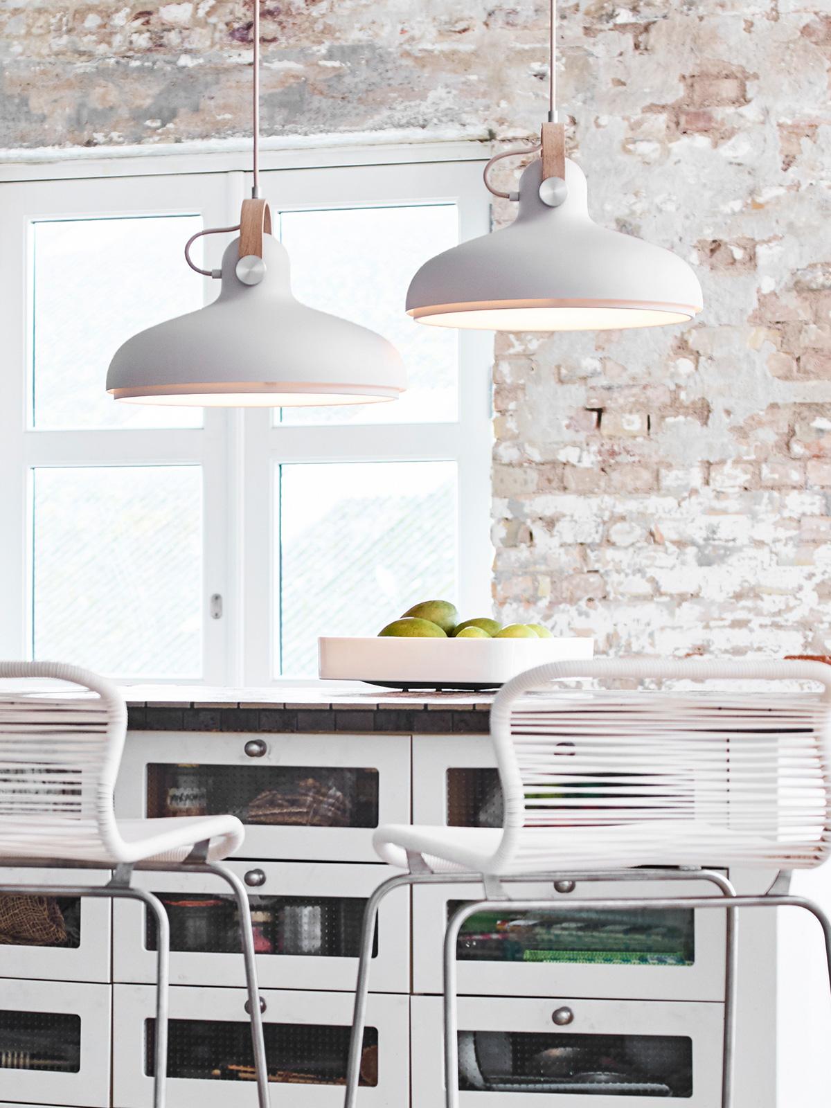 Le Klint Carronade Large in Sand große Pendelleuchte DesignOrt Onlineshop Berlin Lampen Designerleuchten